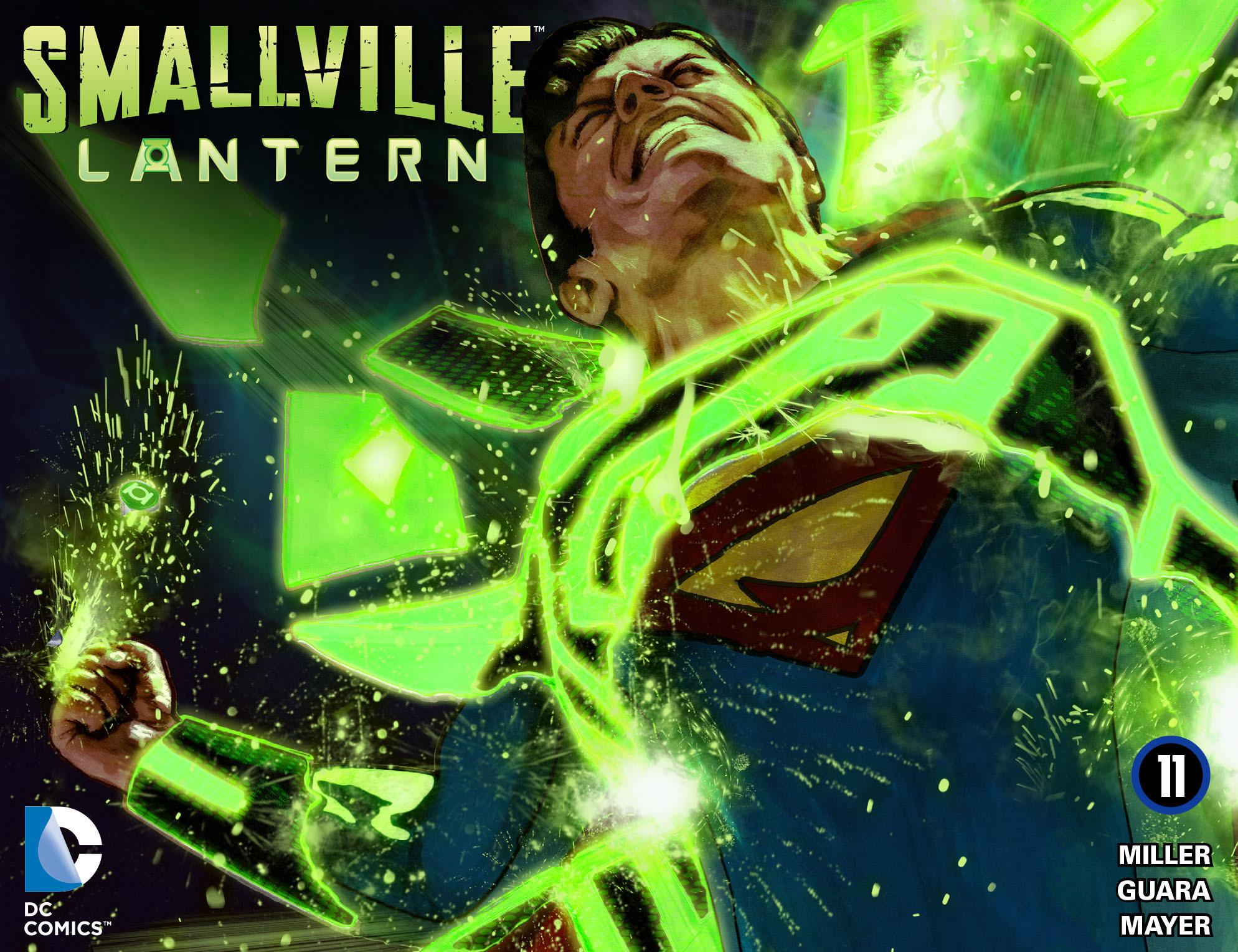 Read online Smallville: Lantern [I] comic -  Issue #11 - 1