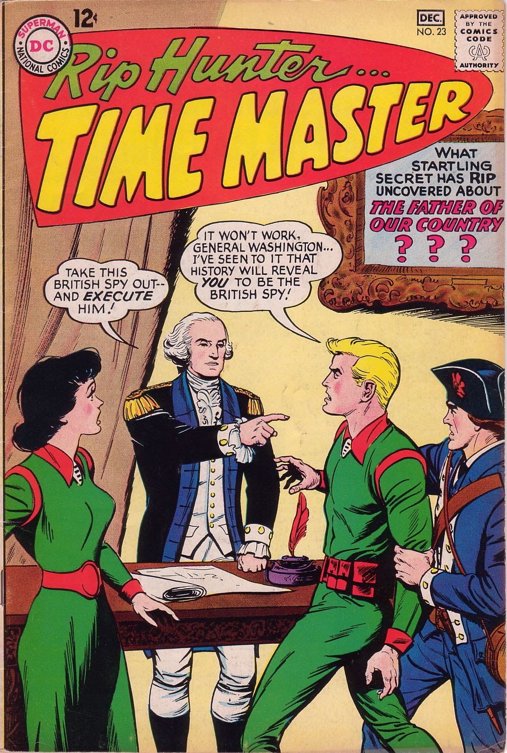 Rip Hunter...Time Master 23 Page 1