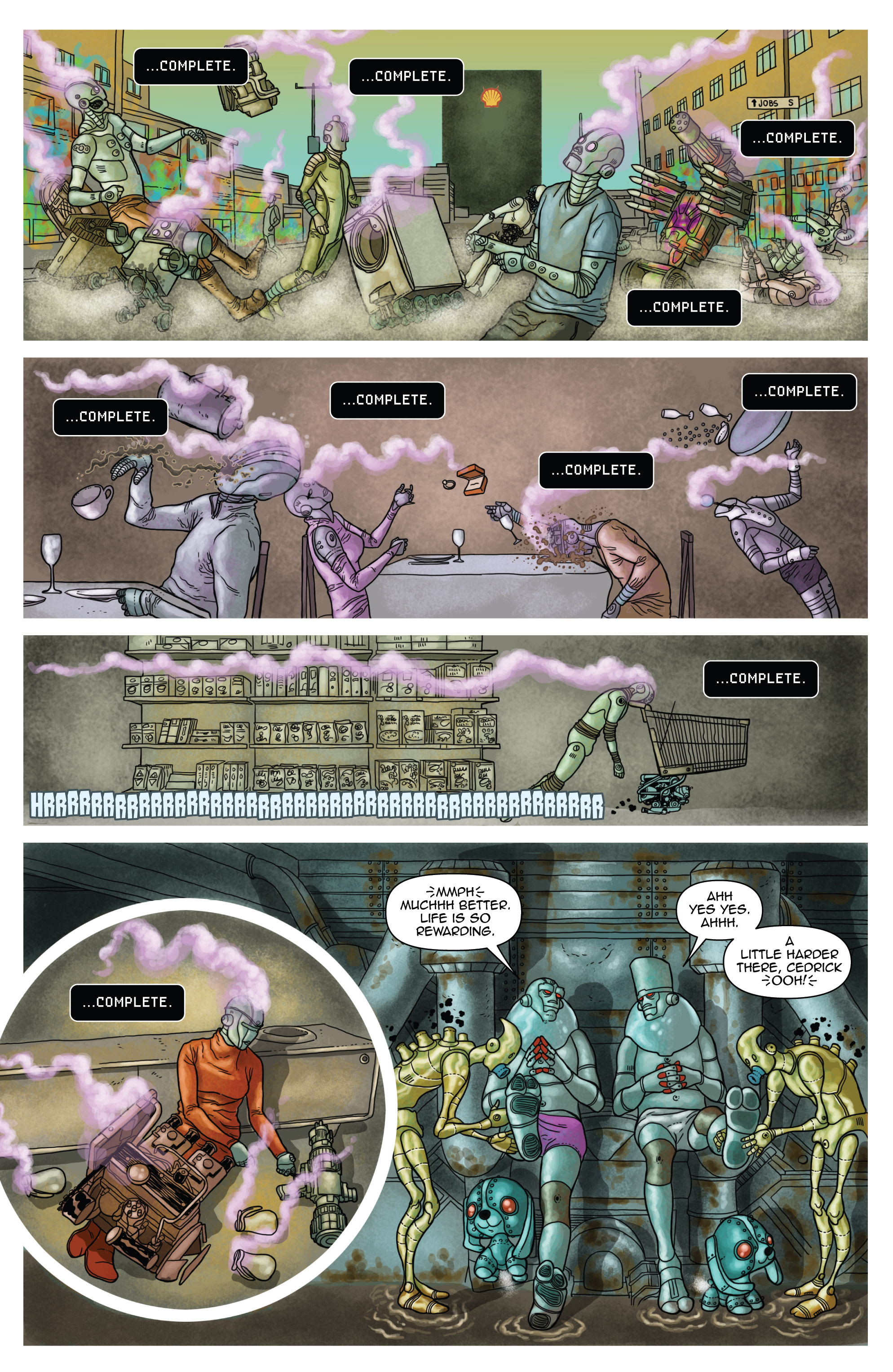 Read online D4VEocracy comic -  Issue #4 - 9