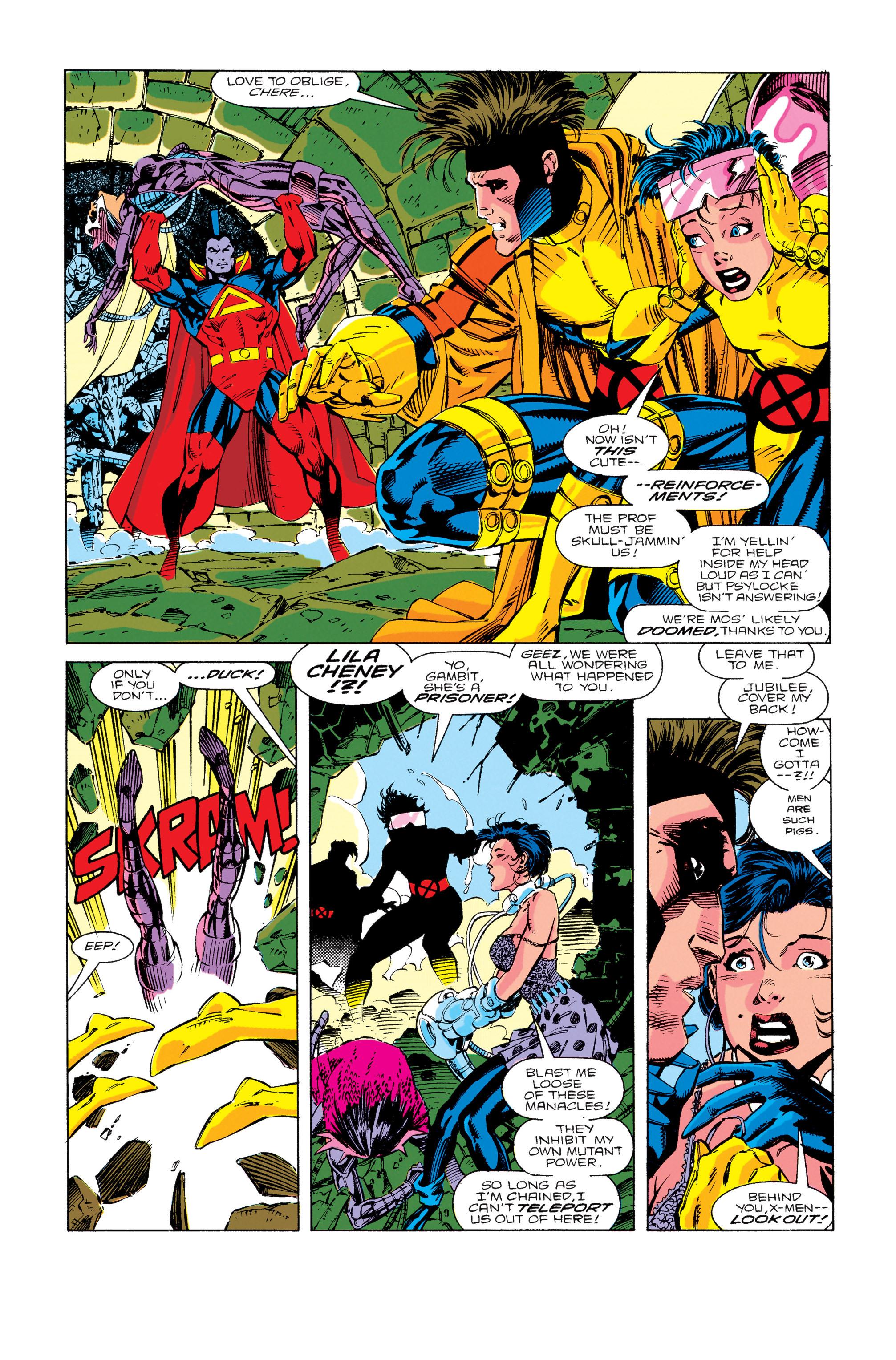 Read online Uncanny X-Men (1963) comic -  Issue #276 - 7