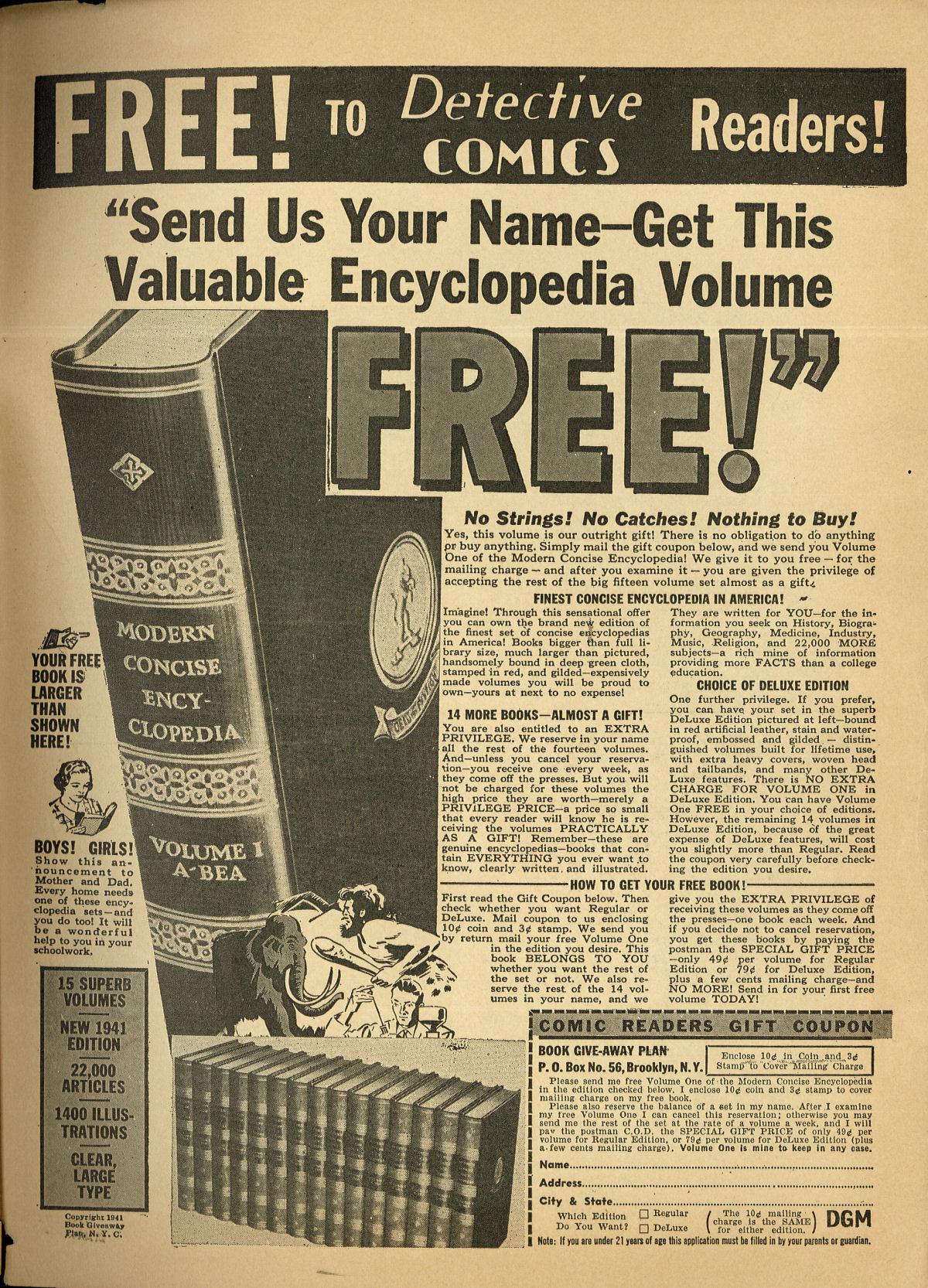Read online Detective Comics (1937) comic -  Issue #55 - 67