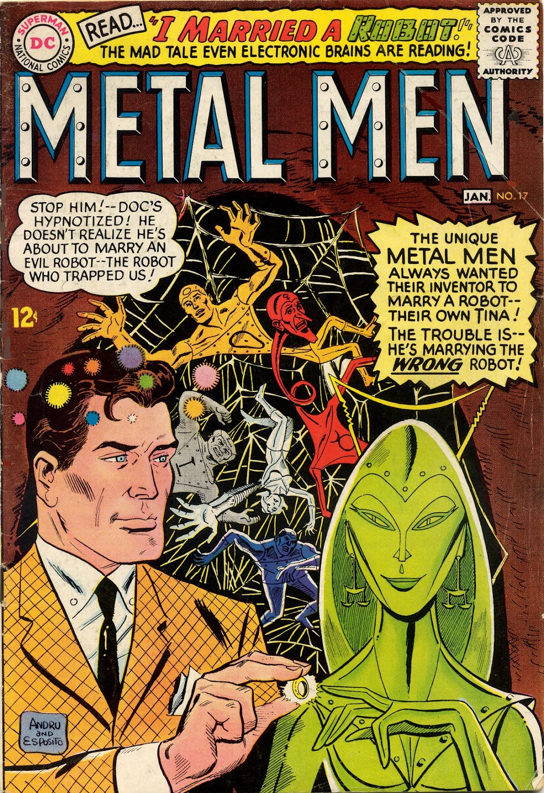 Metal Men (1963) issue 17 - Page 1