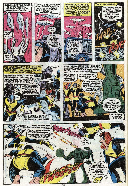 Read online Uncanny X-Men (1963) comic -  Issue #85 - 32