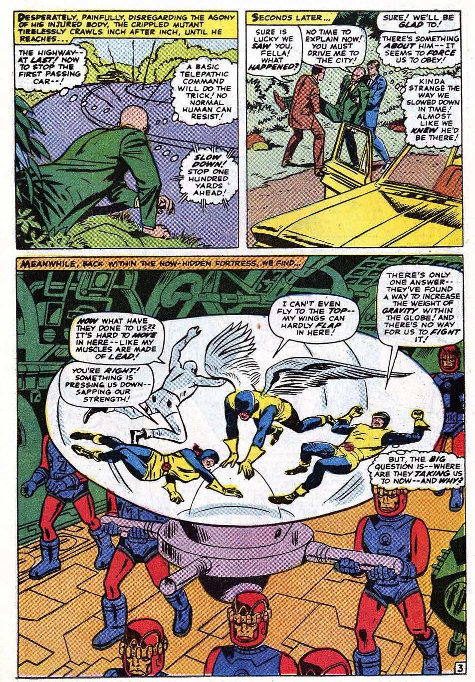 Read online Uncanny X-Men (1963) comic -  Issue #69 - 5