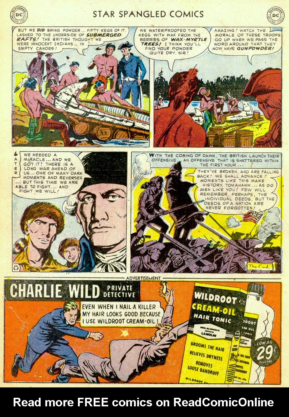 Star Spangled Comics (1941) issue 123 - Page 40