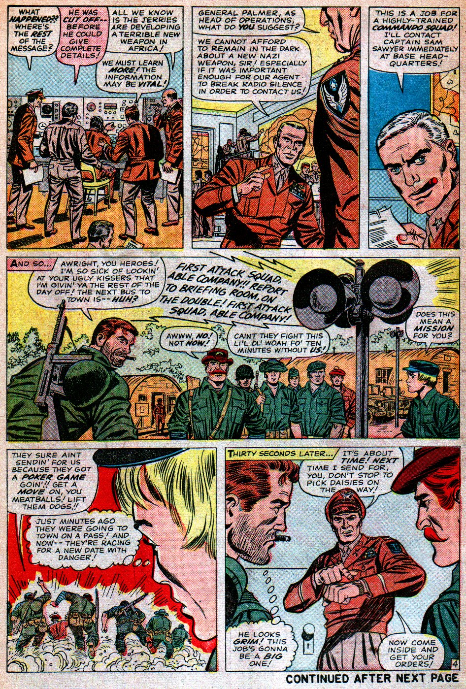 Read online Sgt. Fury comic -  Issue #16 - 6