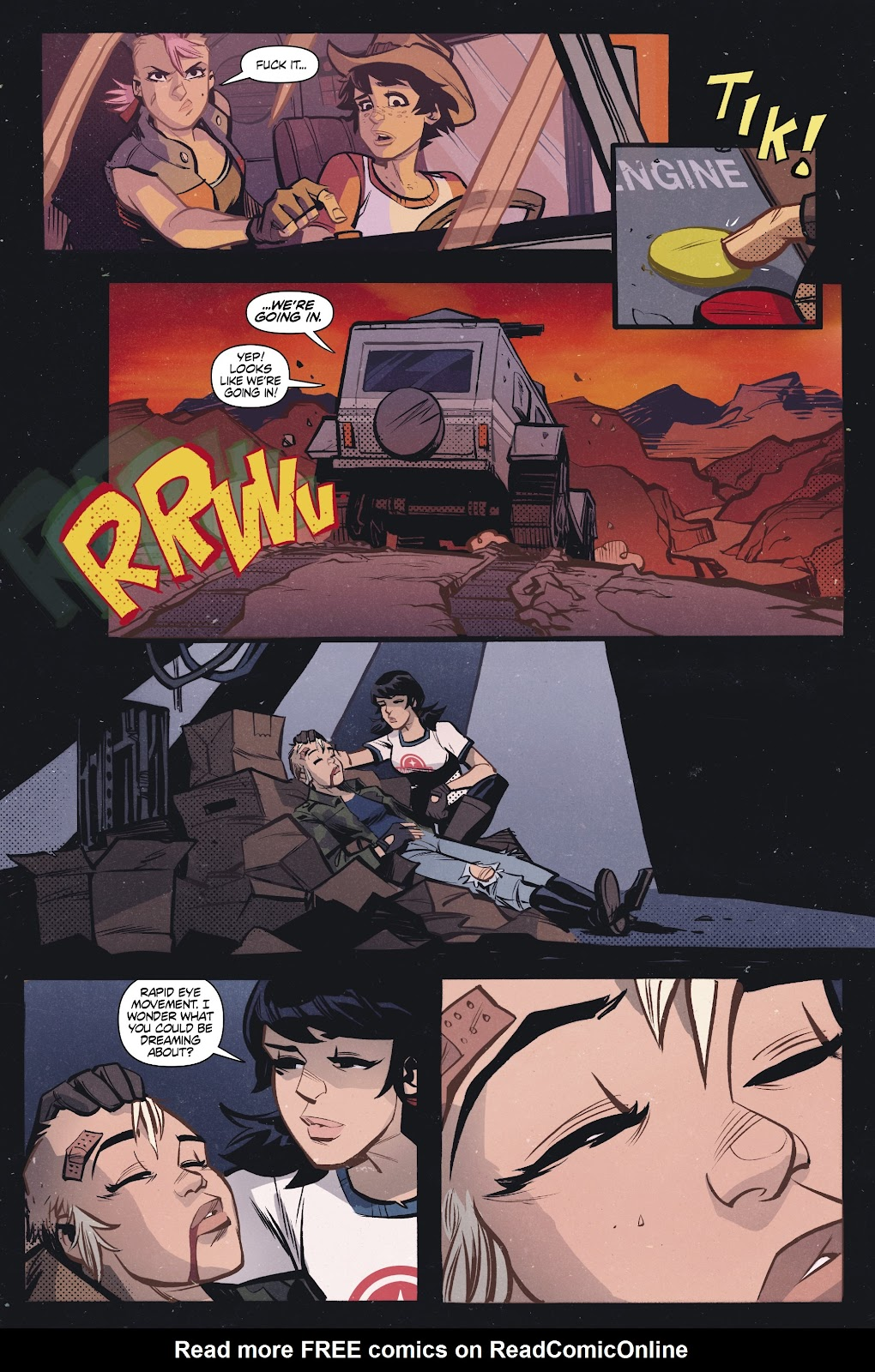 Read online Tank Girl Ongoing comic -  Issue #2 - 14