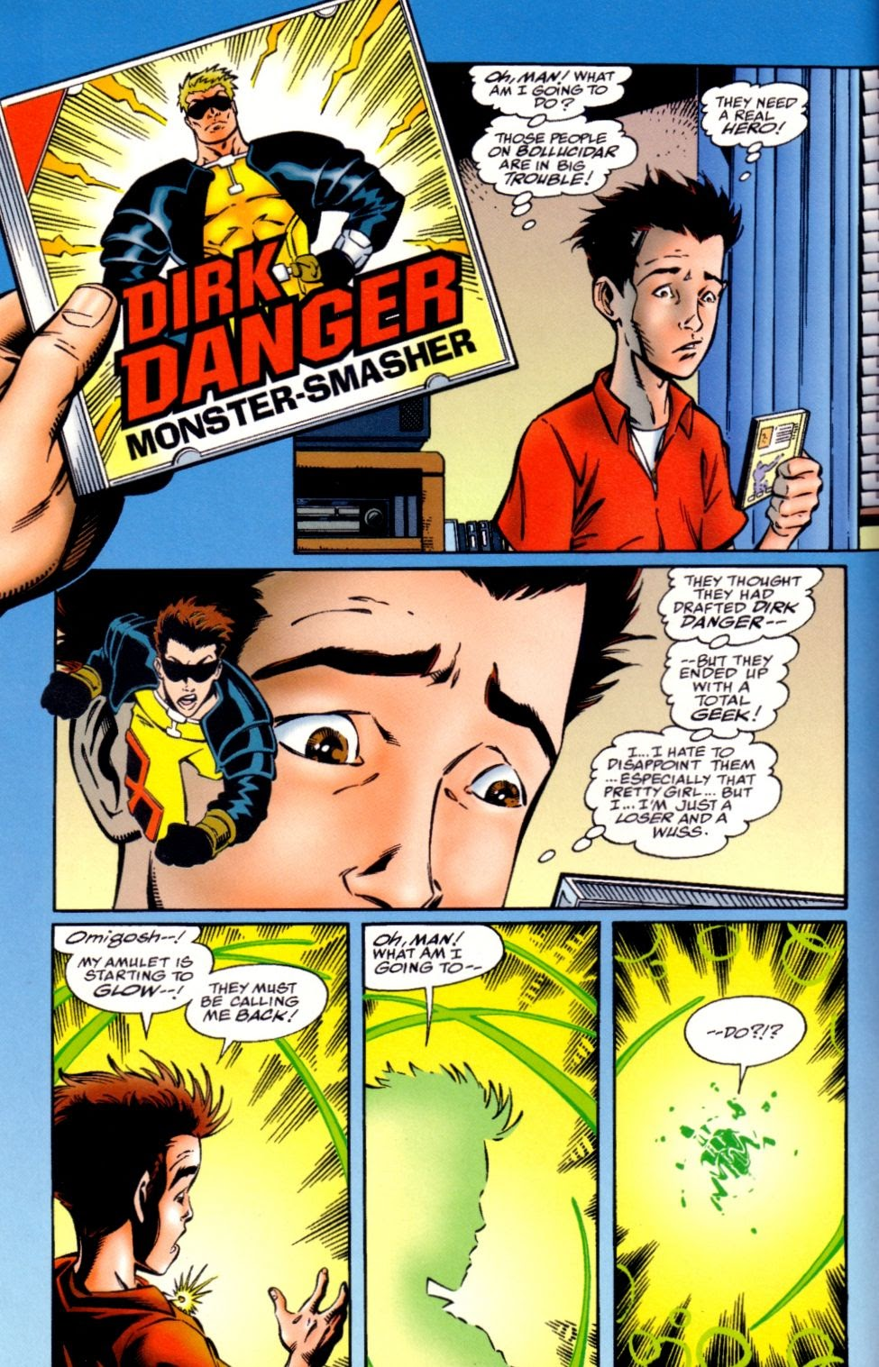Read online Randy O'Donnell is The M@N comic -  Issue #2 - 7