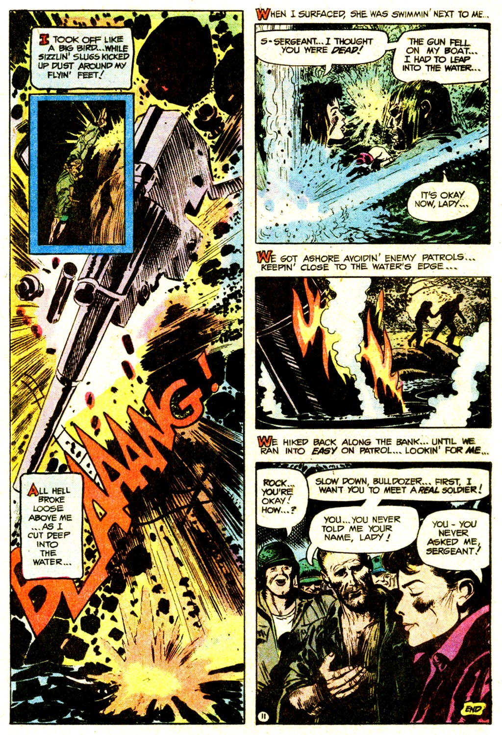 Read online Sgt. Rock comic -  Issue #311 - 20
