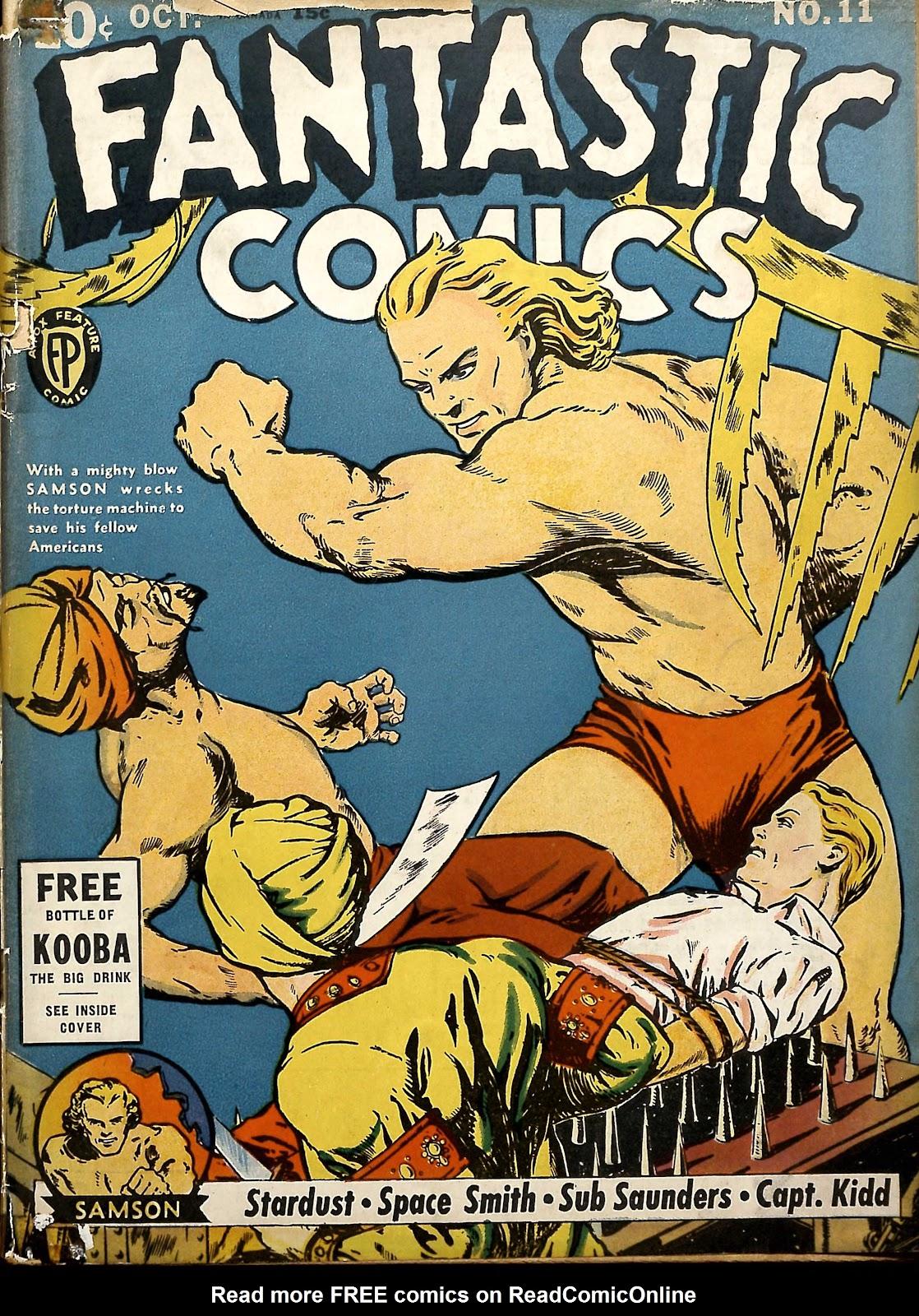 Read online Fantastic Comics comic -  Issue #11 - 2