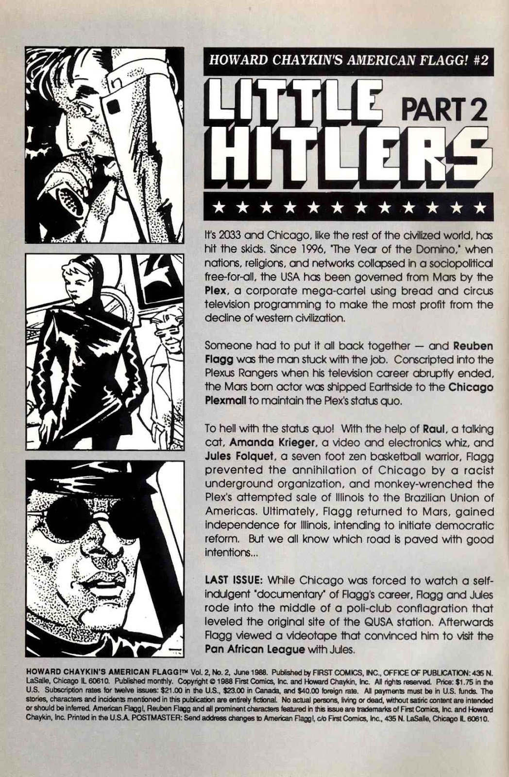 Howard Chaykin's American Flagg issue 2 - Page 2