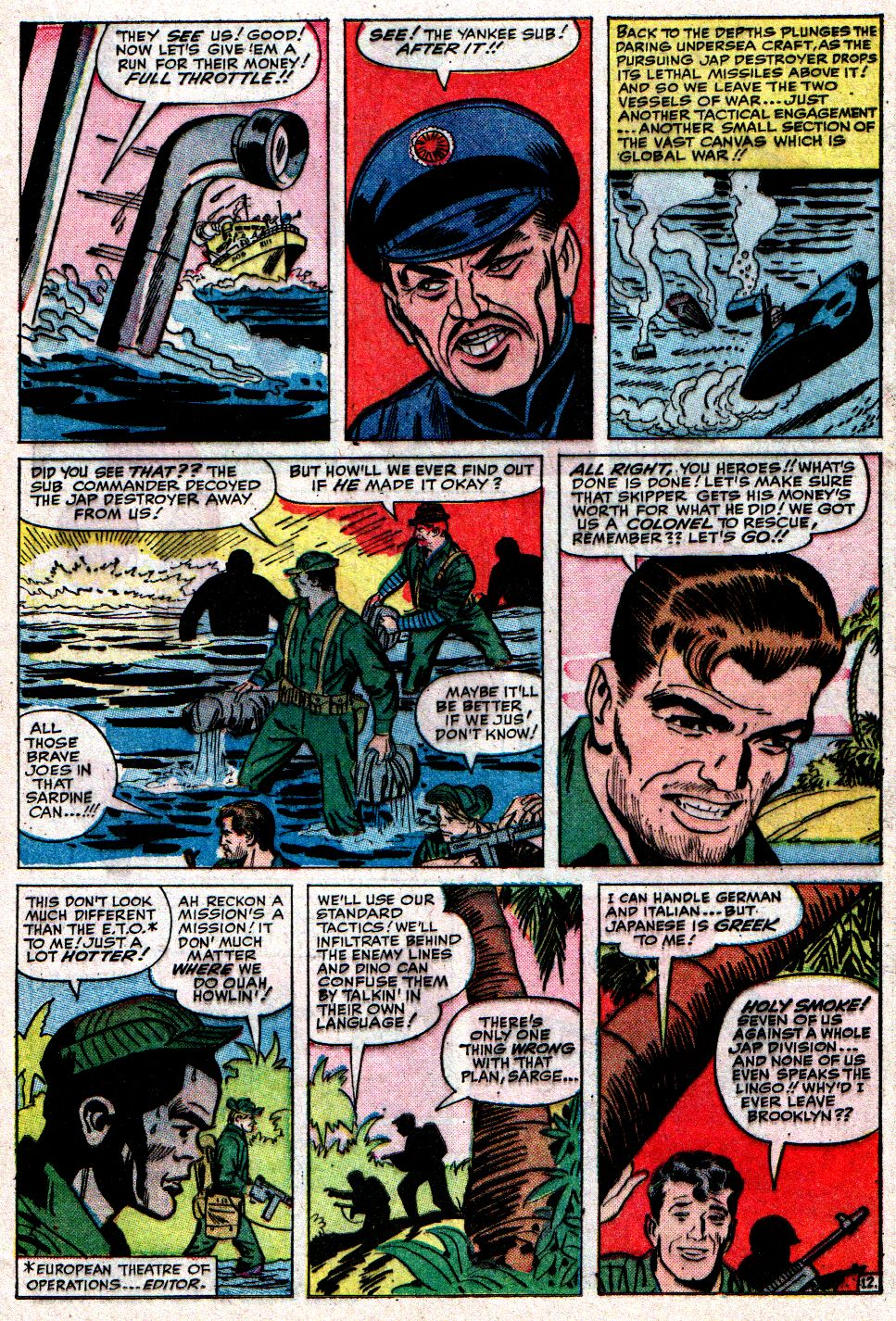 Read online Sgt. Fury comic -  Issue #10 - 17