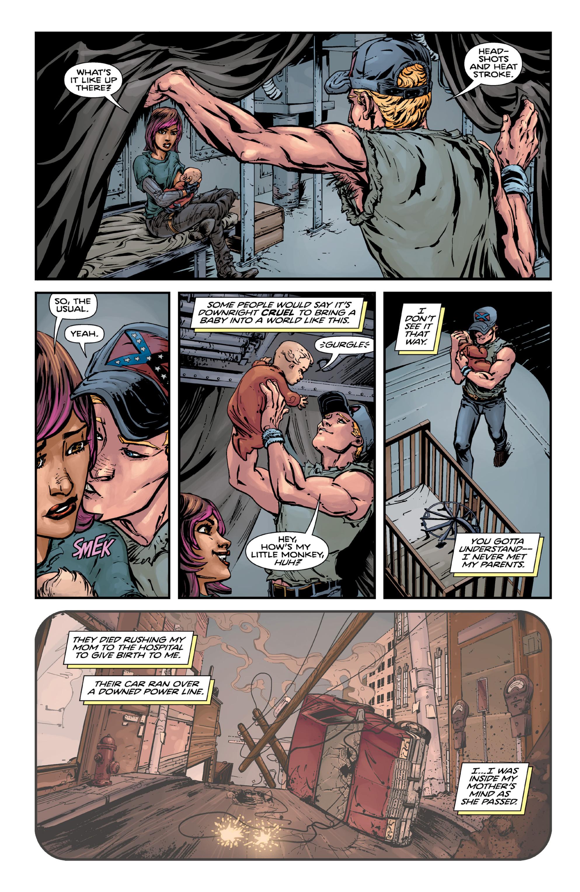 Read online Brain Boy:  The Men from G.E.S.T.A.L.T. comic -  Issue # TPB - 58