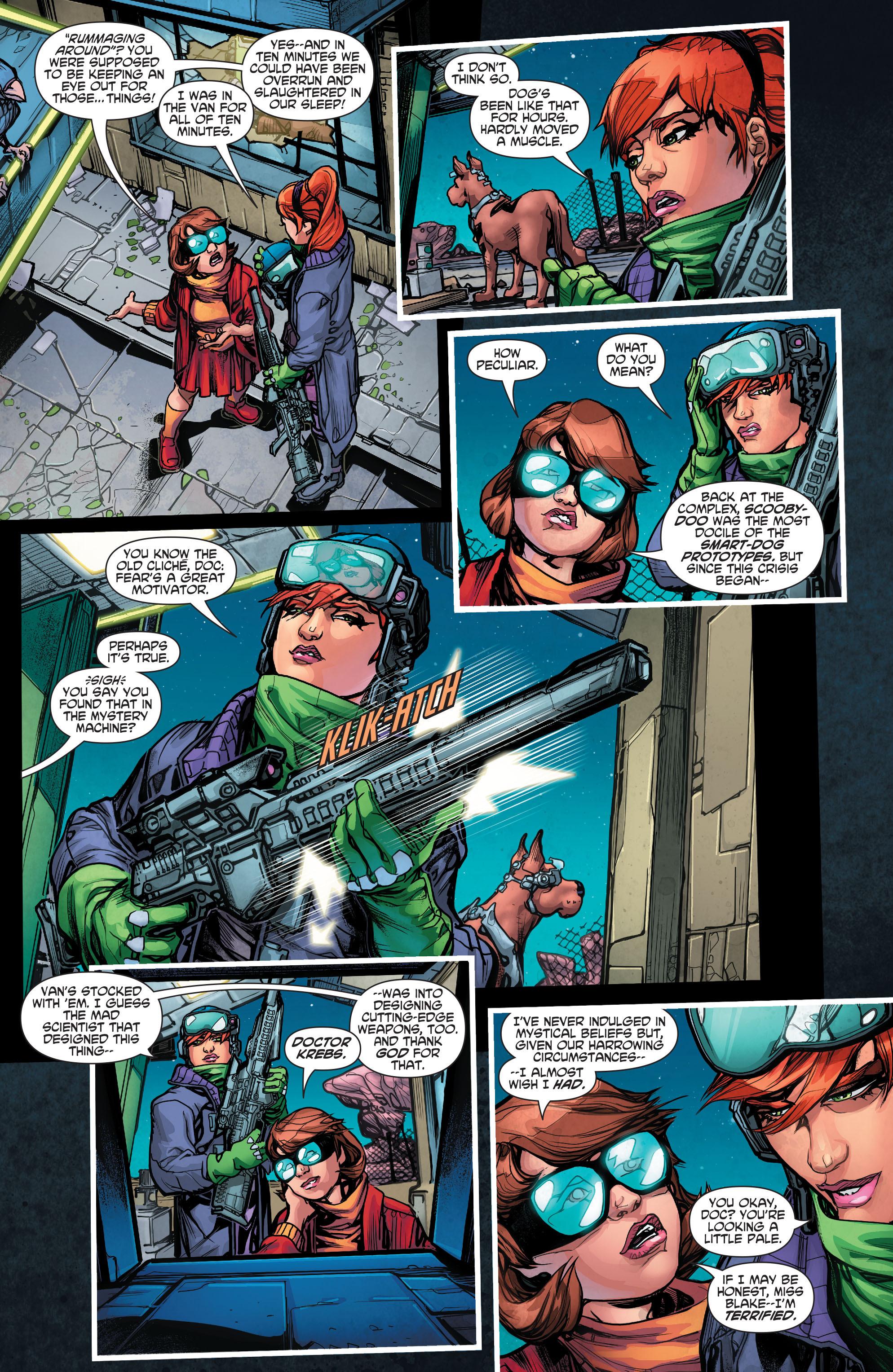 Read online Scooby Apocalypse comic -  Issue #4 - 6