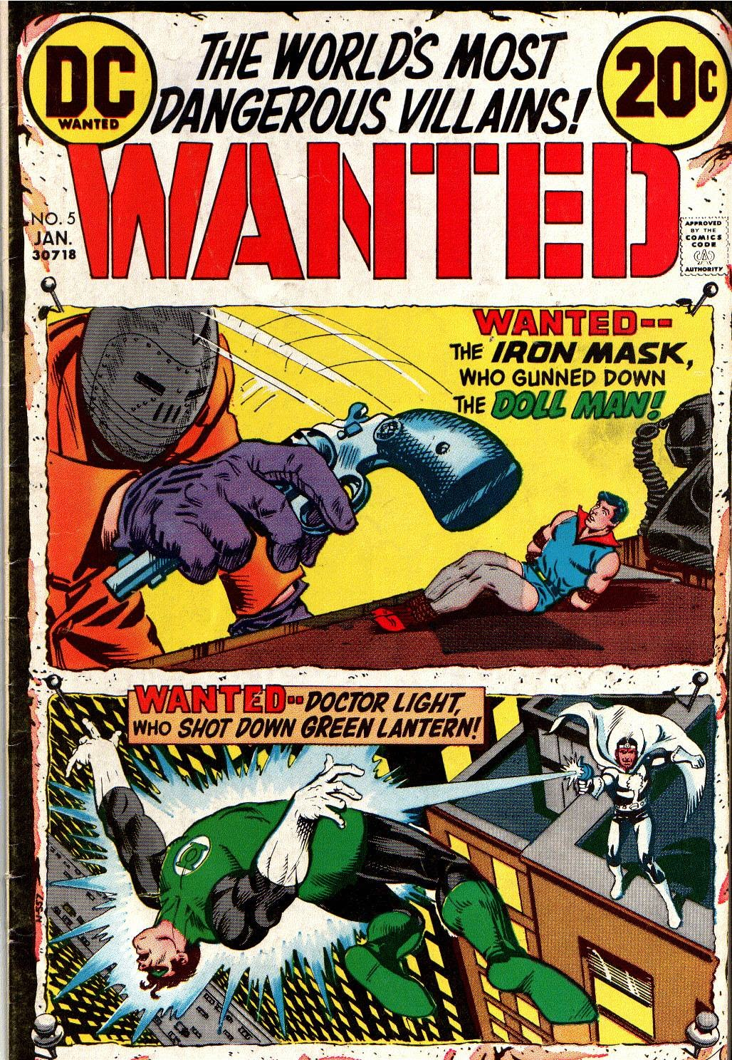 Wanted, the World's Most Dangerous Villains issue 5 - Page 1