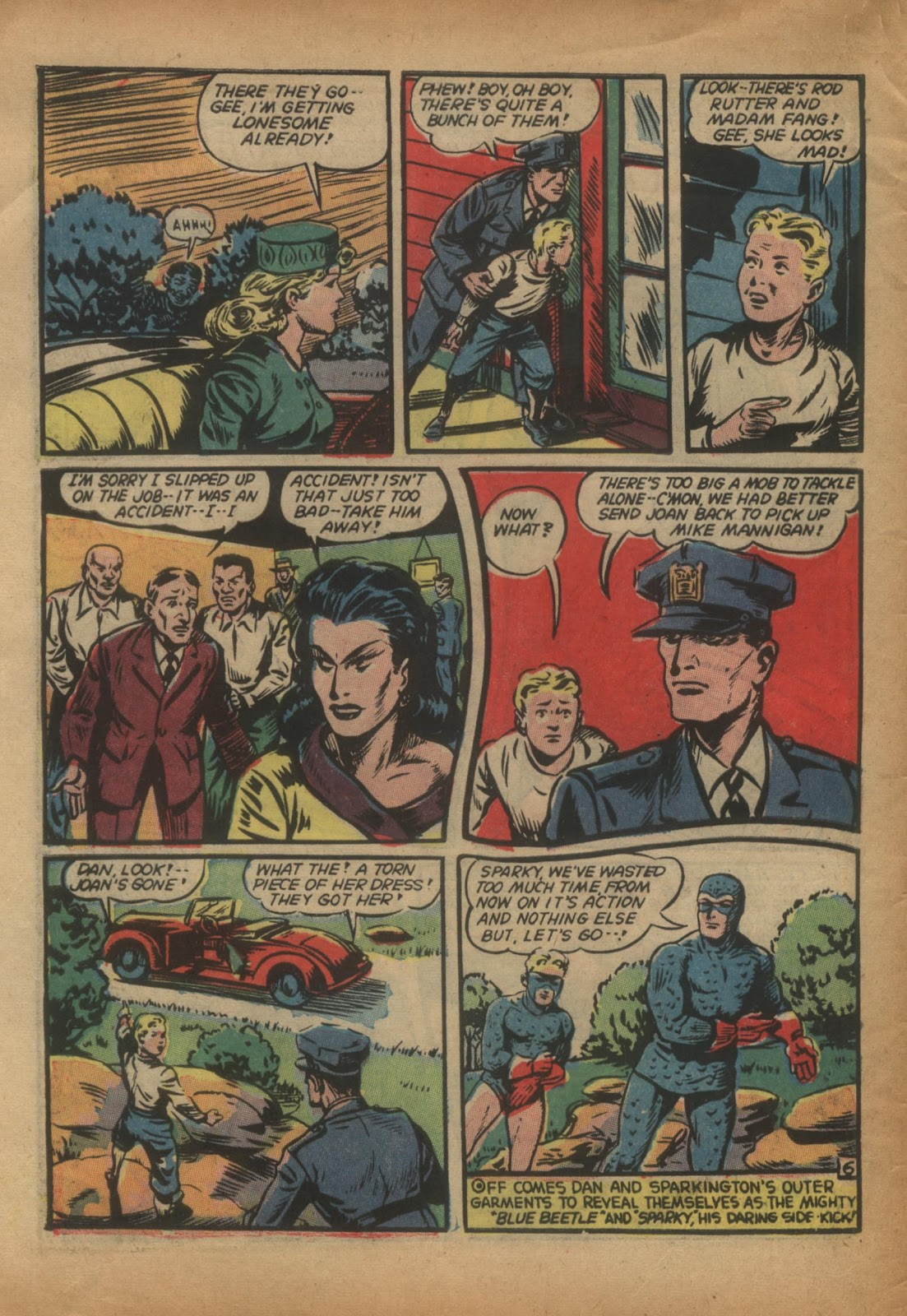 The Blue Beetle issue 15 - Page 8