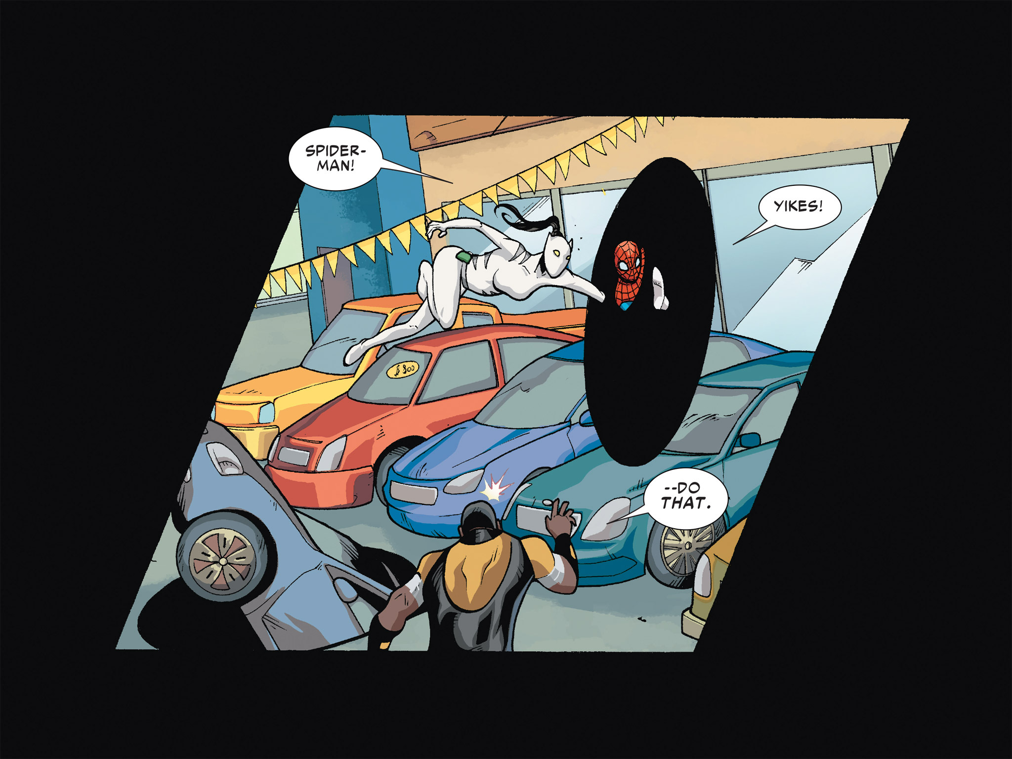 Read online Ultimate Spider-Man (Infinite Comics) (2016) comic -  Issue #6 - 21