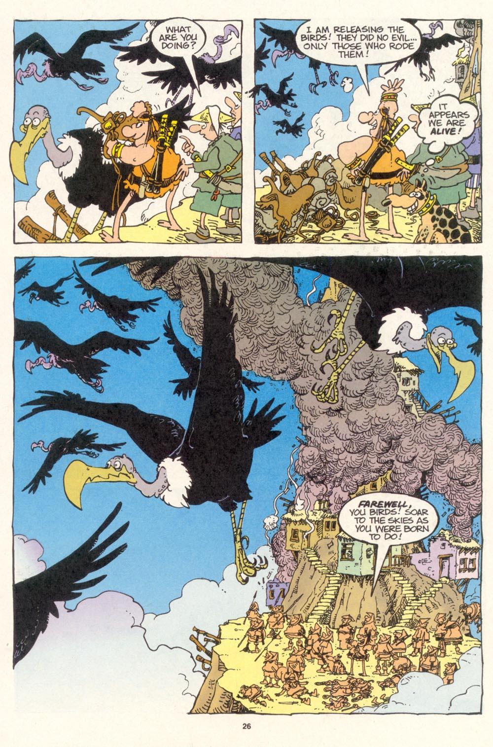 Read online Sergio Aragonés Groo the Wanderer comic -  Issue #115 - 28