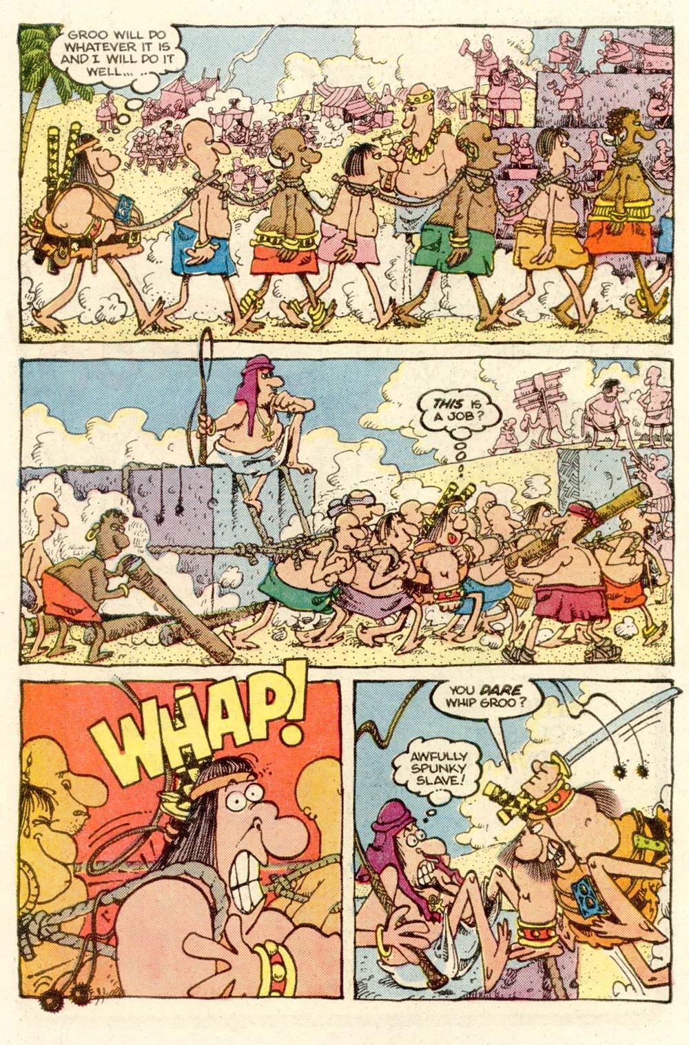 Read online Sergio Aragonés Groo the Wanderer comic -  Issue #14 - 6