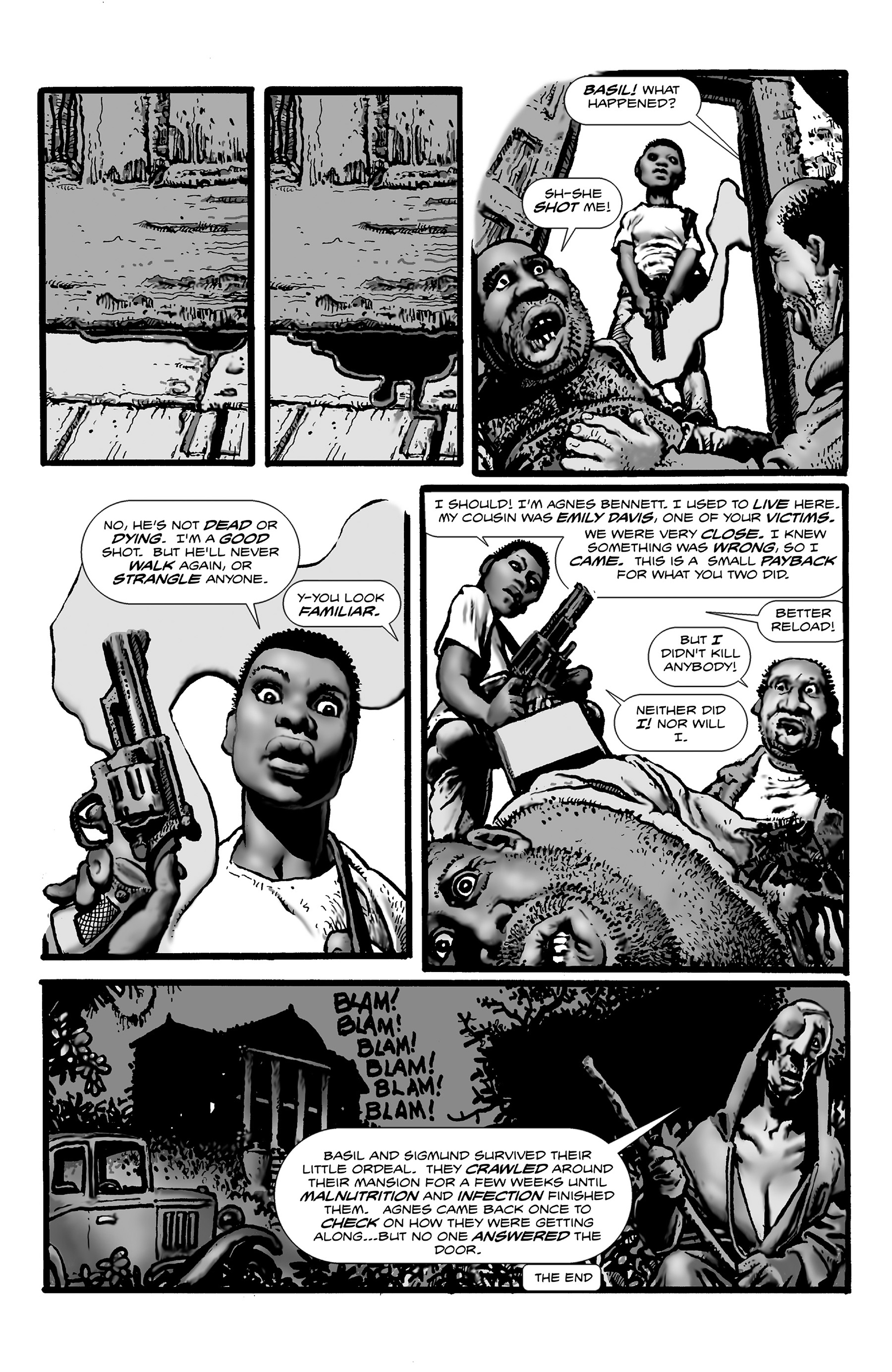 Read online Shadows on the Grave comic -  Issue #3 - 6