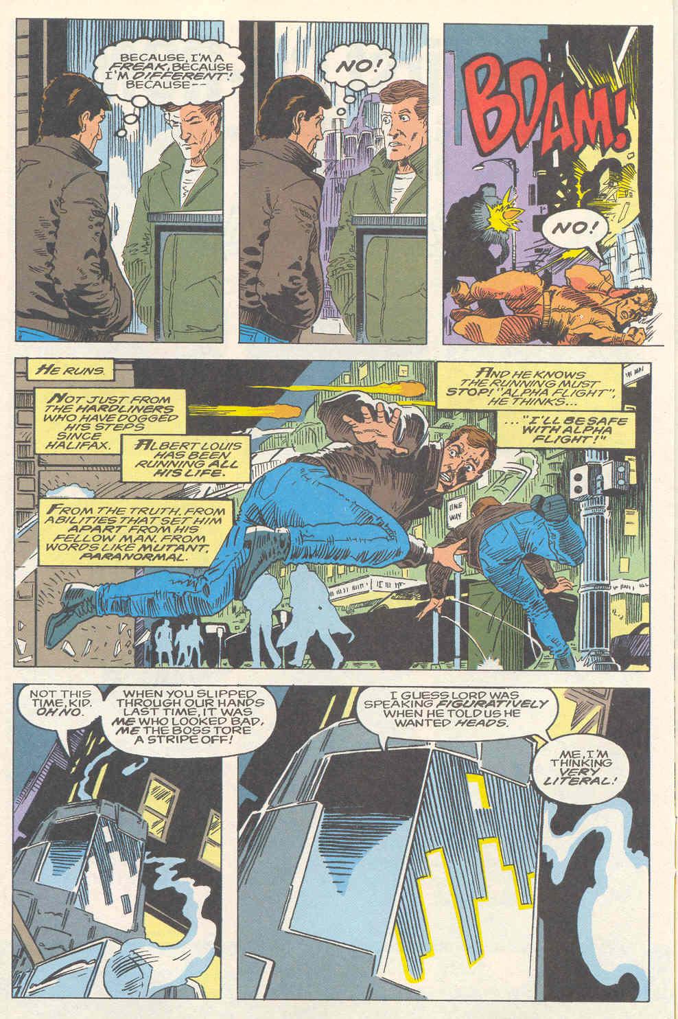 Read online Alpha Flight (1983) comic -  Issue #120 - 8