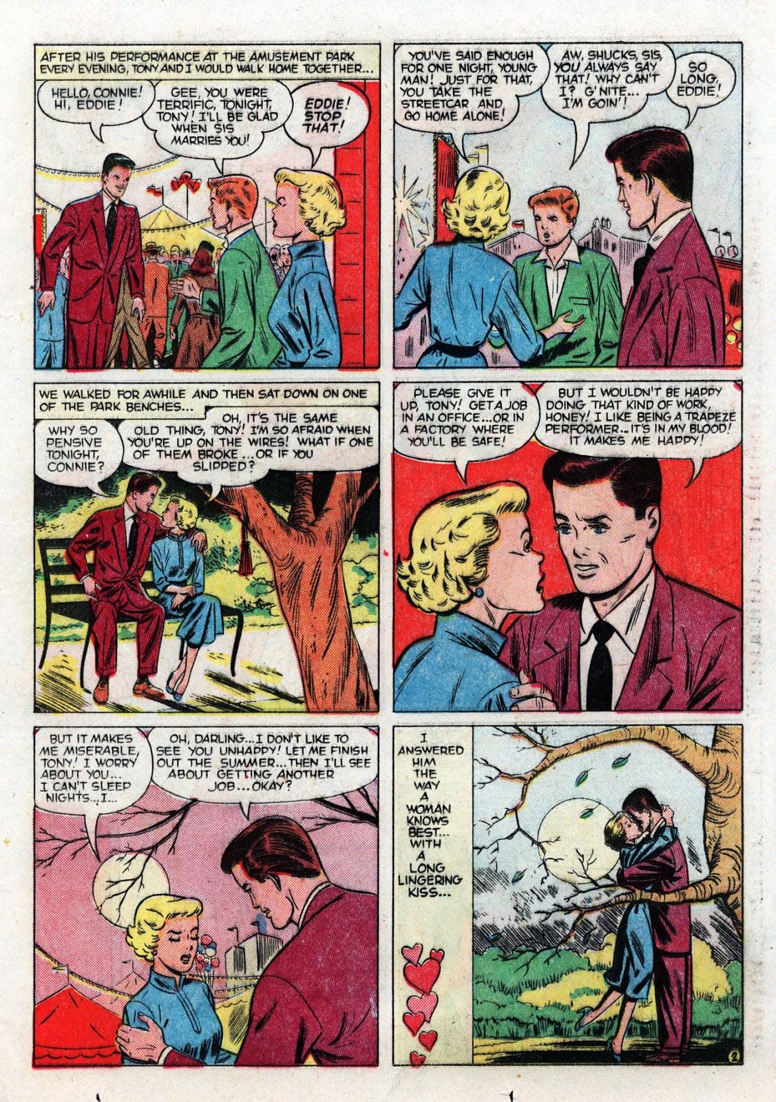 Love Romances (1949) issue 19 - Page 21