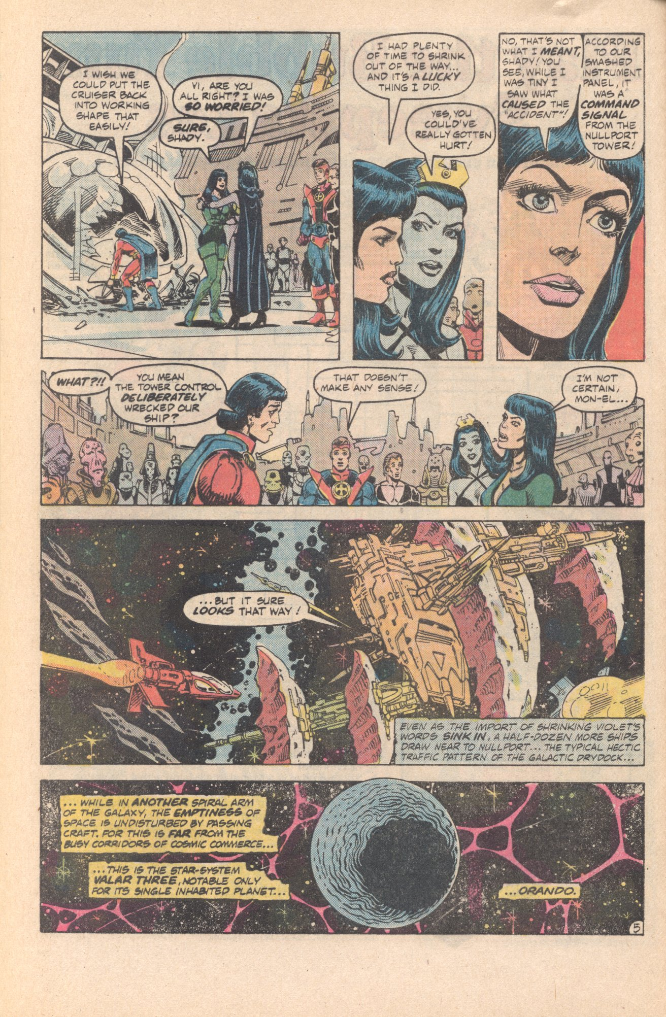Legion of Super-Heroes (1980) 285 Page 5