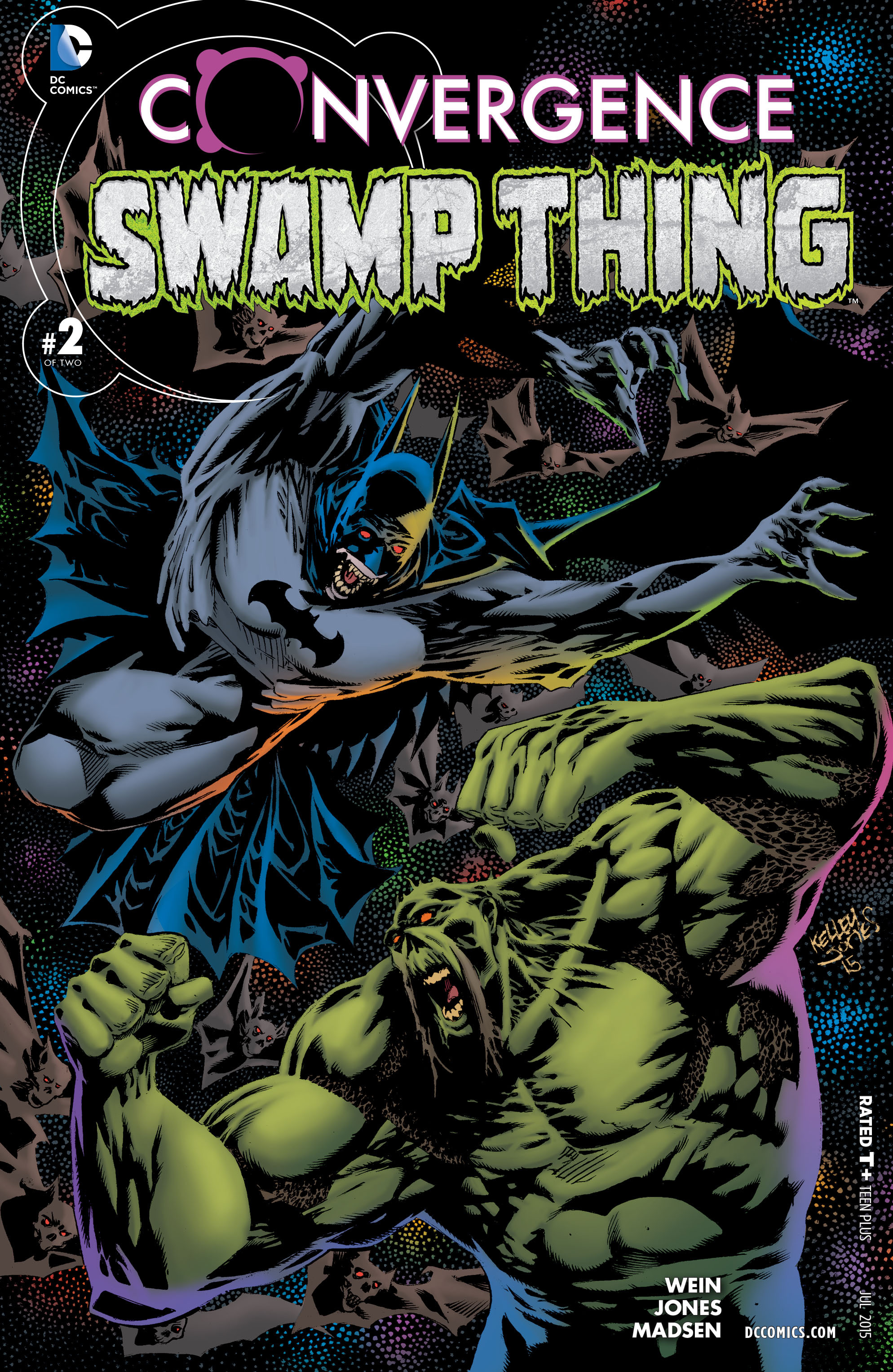 Read online Convergence Swamp Thing comic -  Issue #2 - 1