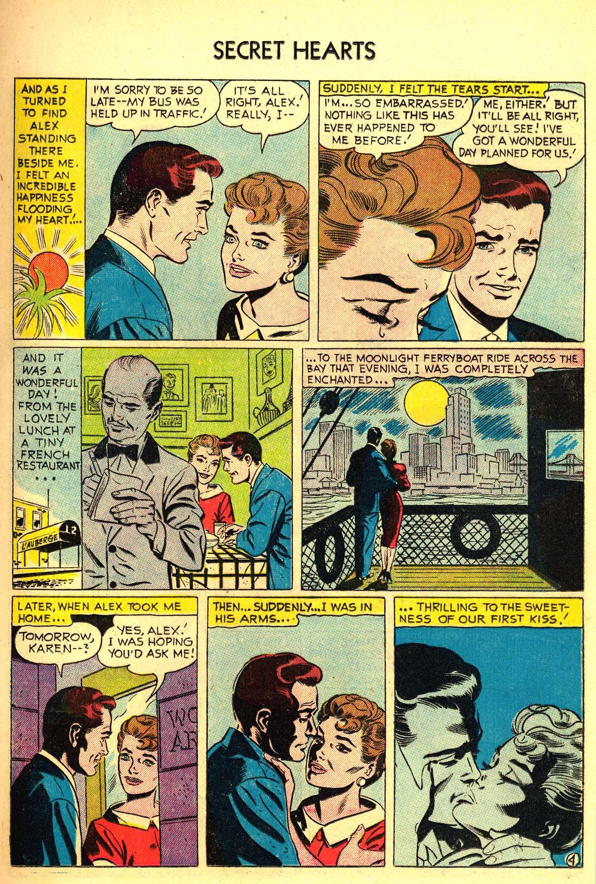 Read online Secret Hearts comic -  Issue #34 - 13