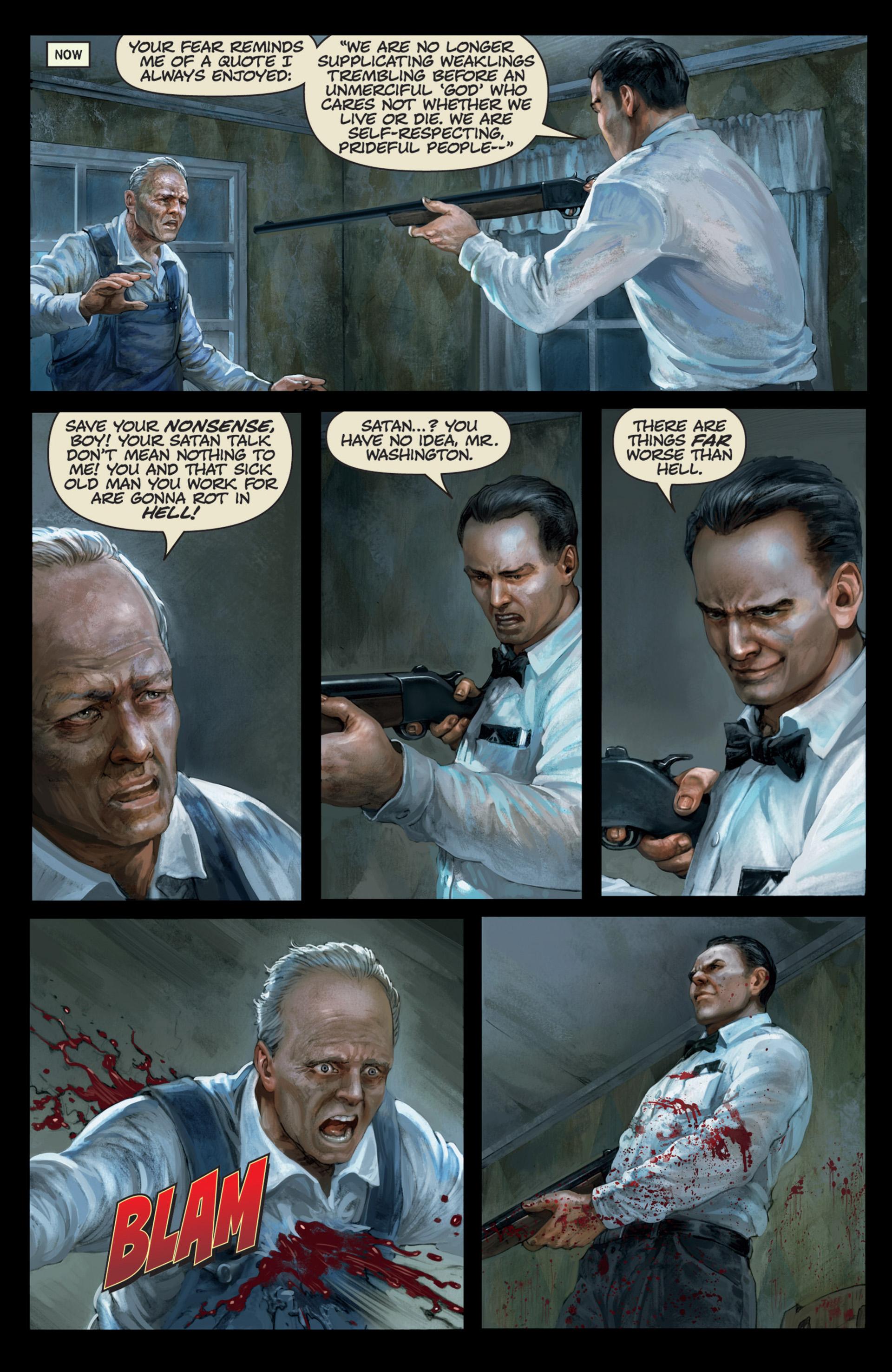 Read online Abattoir comic -  Issue #4 - 4