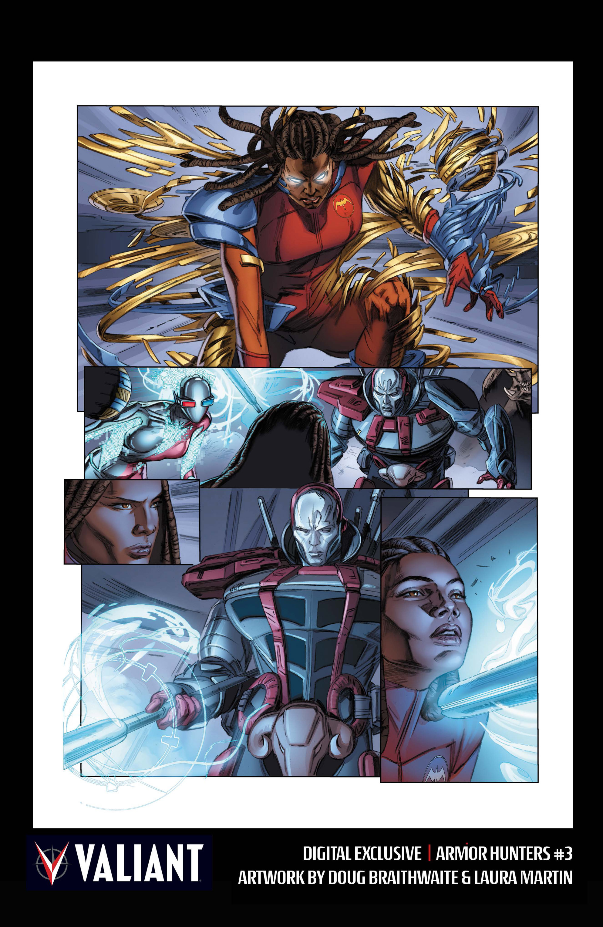Read online Armor Hunters comic -  Issue #3 - 33