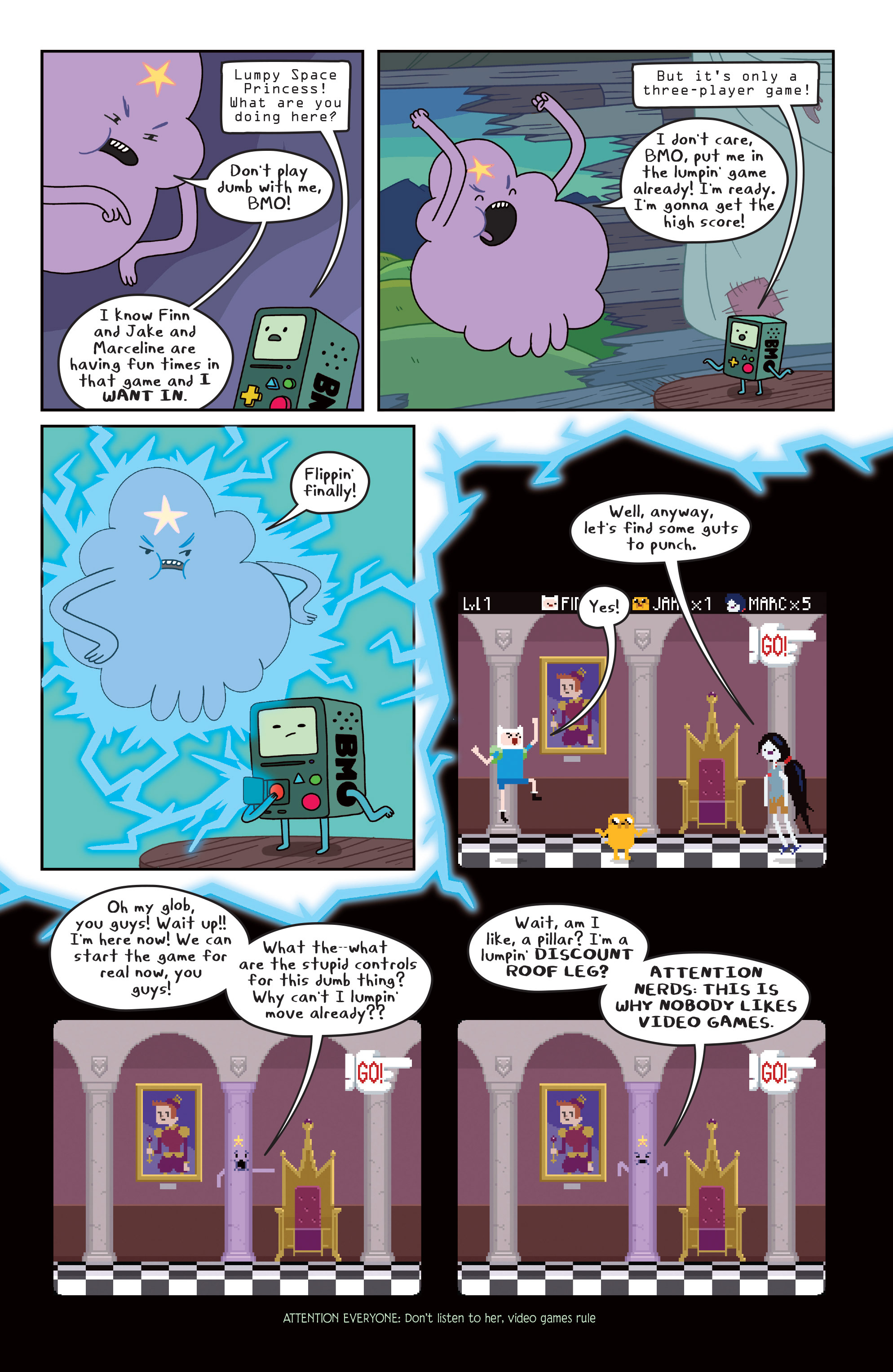 Read online Adventure Time comic -  Issue #Adventure Time _TPB 3 - 33