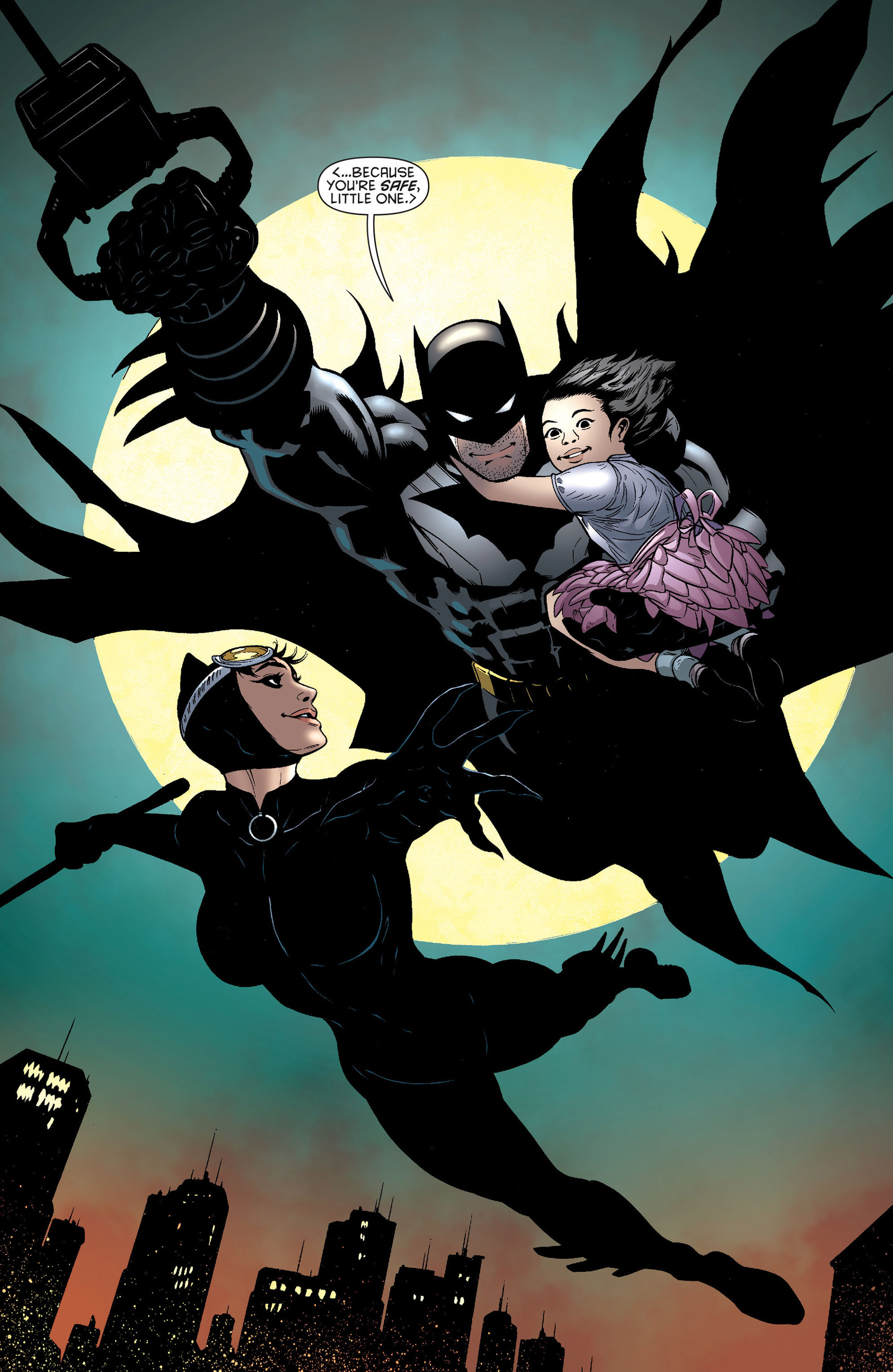 Read online Batman and Robin (2011) comic -  Issue #22 - Batman and Catwoman - 17