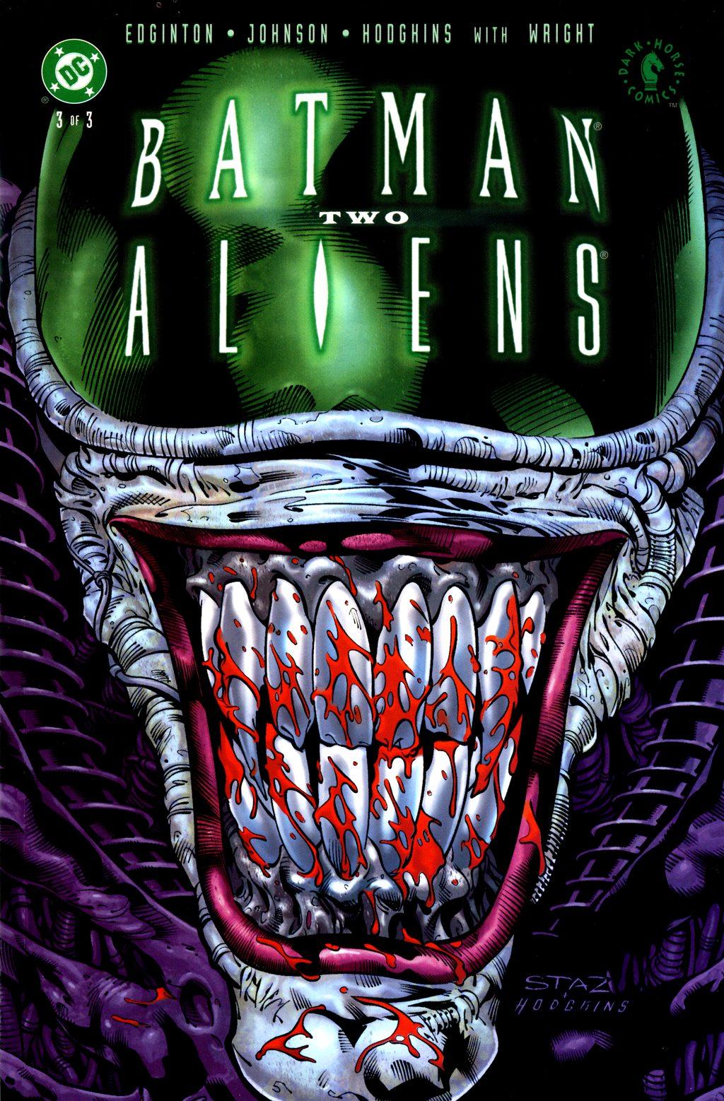 Batman/Aliens II 3 Page 1
