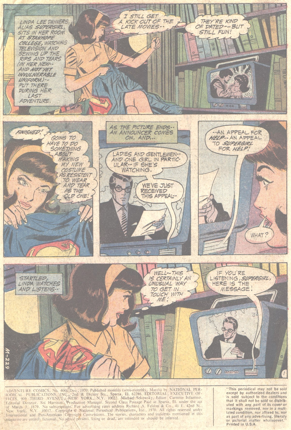 Read online Adventure Comics (1938) comic -  Issue #400 - 3