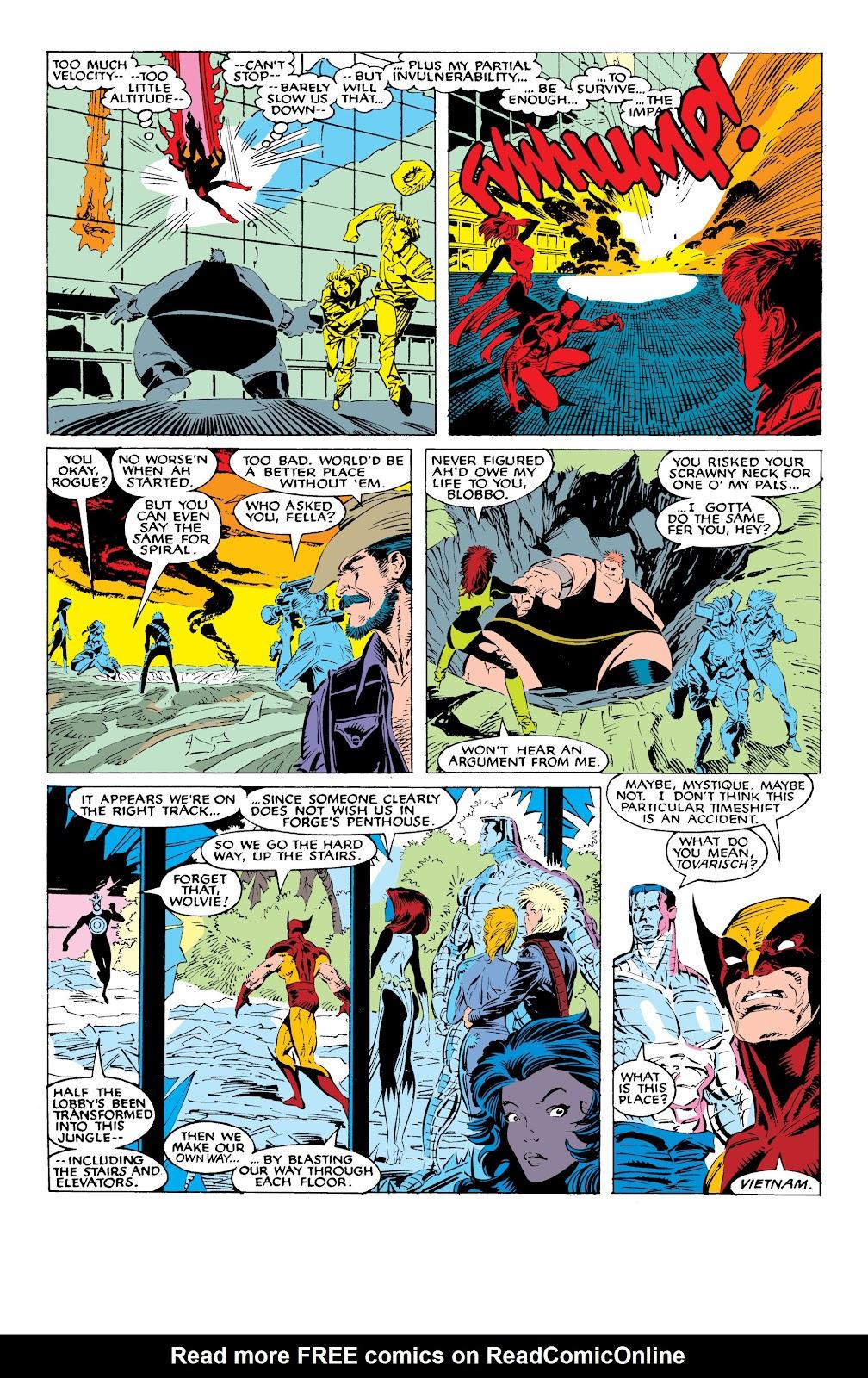 Read online X-Men Milestones: Fall of the Mutants comic -  Issue # TPB (Part 1) - 56