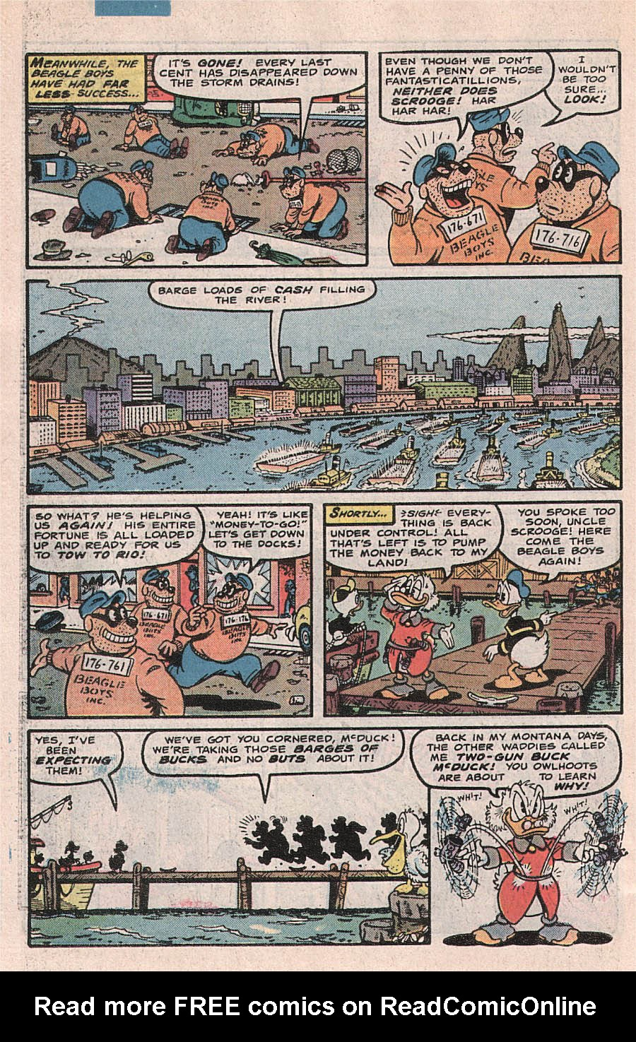 Read online Uncle Scrooge (1953) comic -  Issue #224 - 30