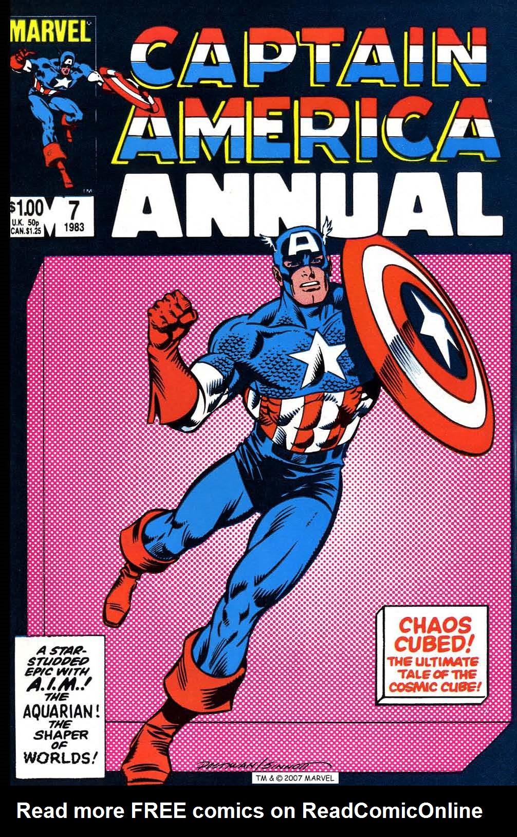 Read online Captain America (1968) comic -  Issue # _Annual 7 - 1