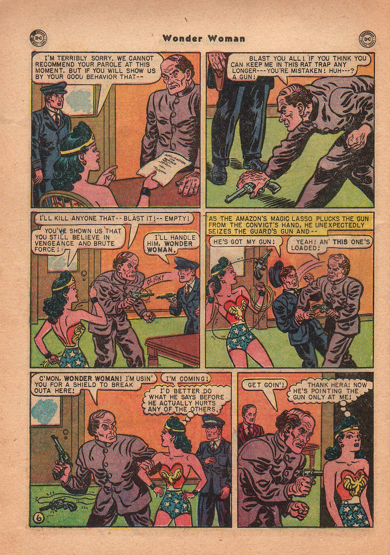 Read online Wonder Woman (1942) comic -  Issue #42 - 43