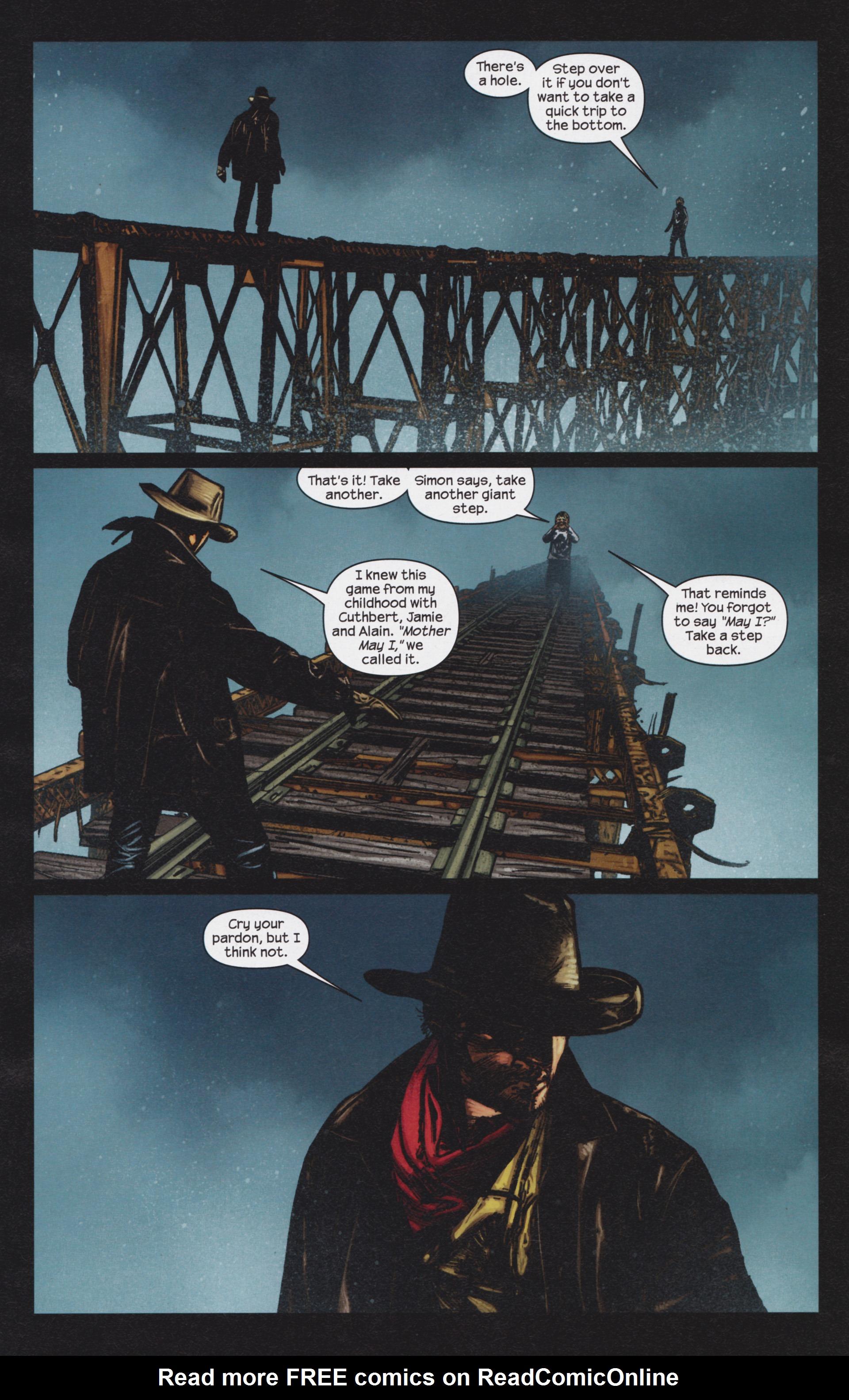 Read online Dark Tower: The Gunslinger - The Man in Black comic -  Issue #4 - 14