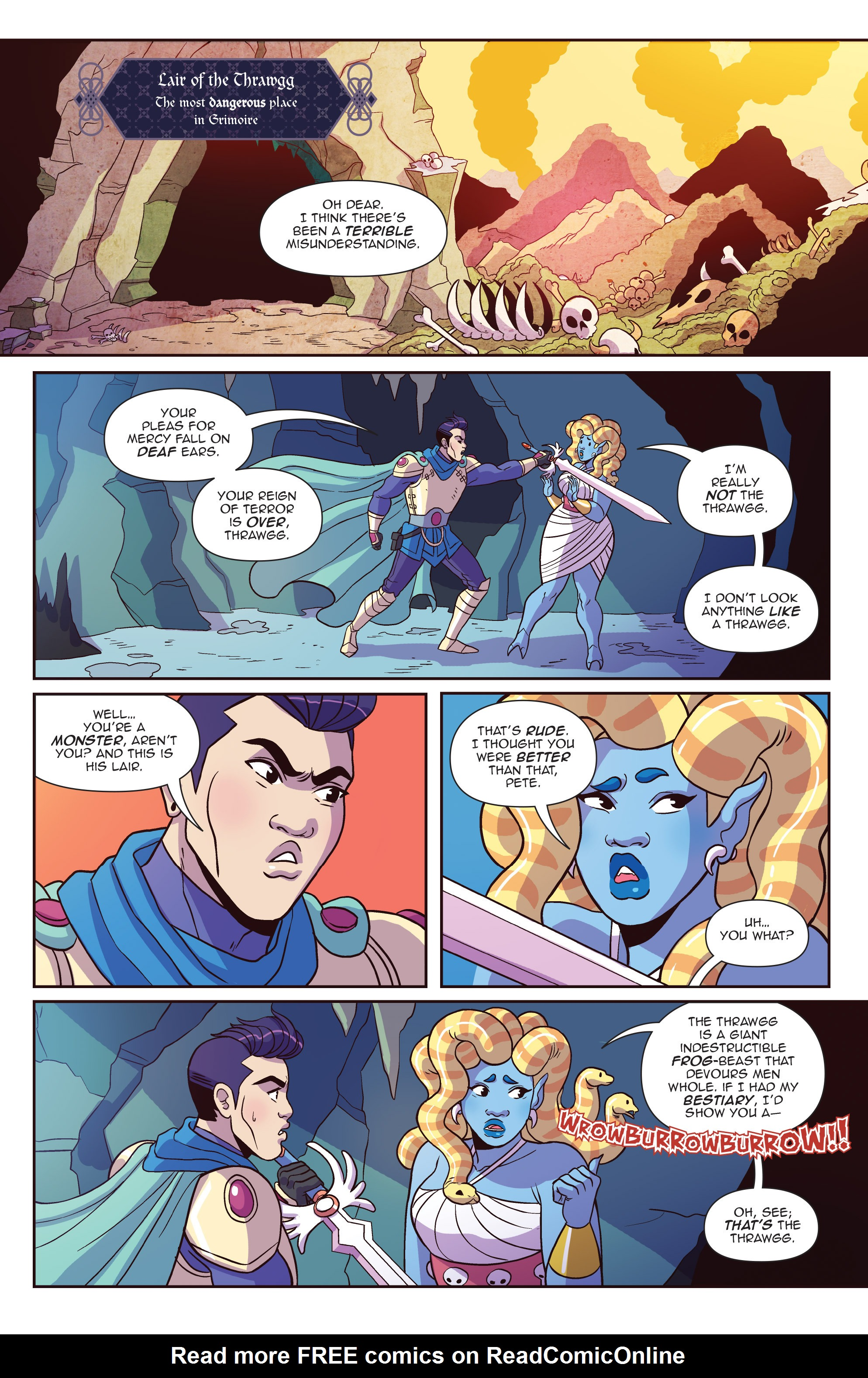 Read online Another Castle comic -  Issue #4 - 5