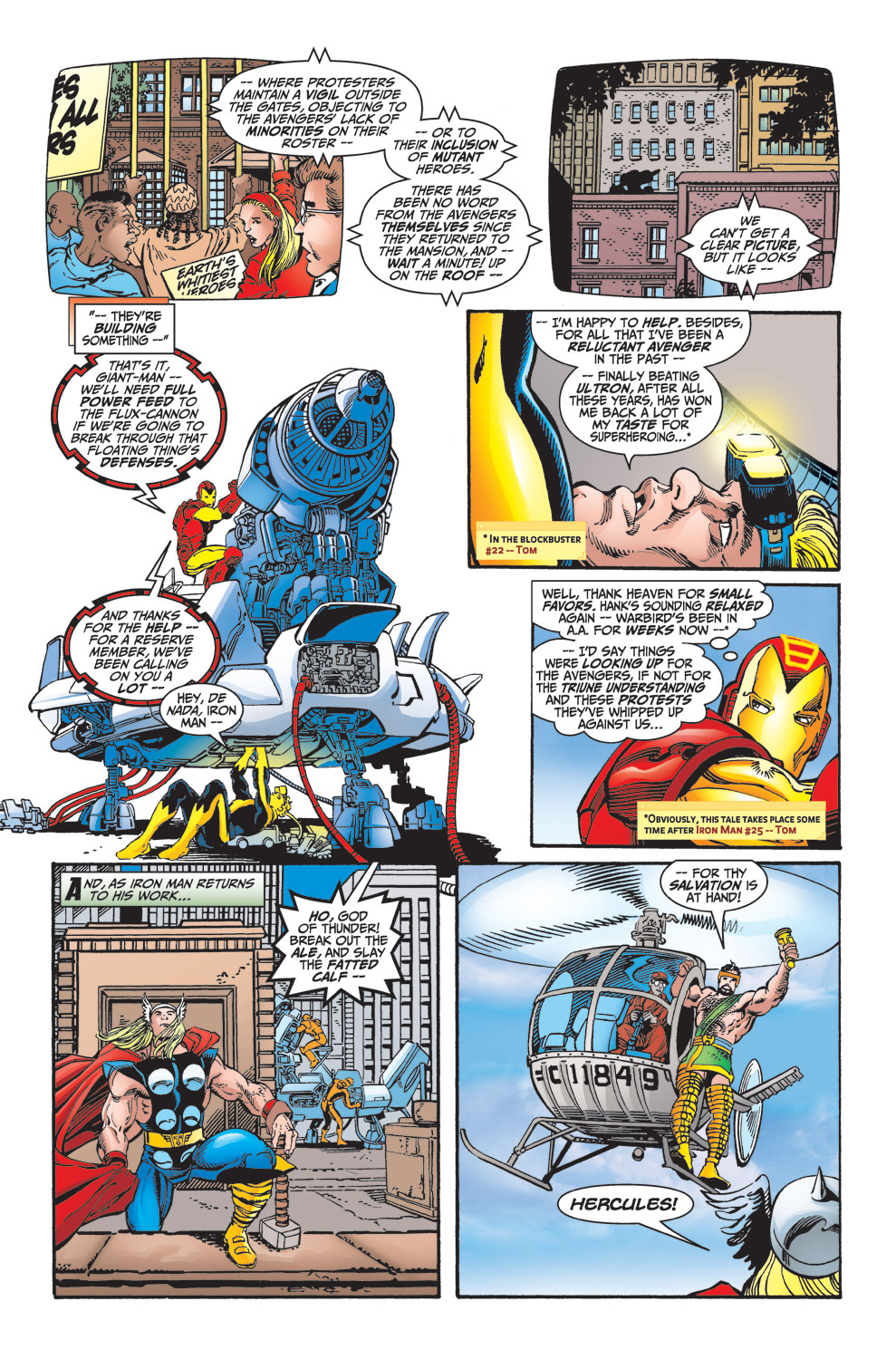 Read online Avengers (1998) comic -  Issue #25 - 5