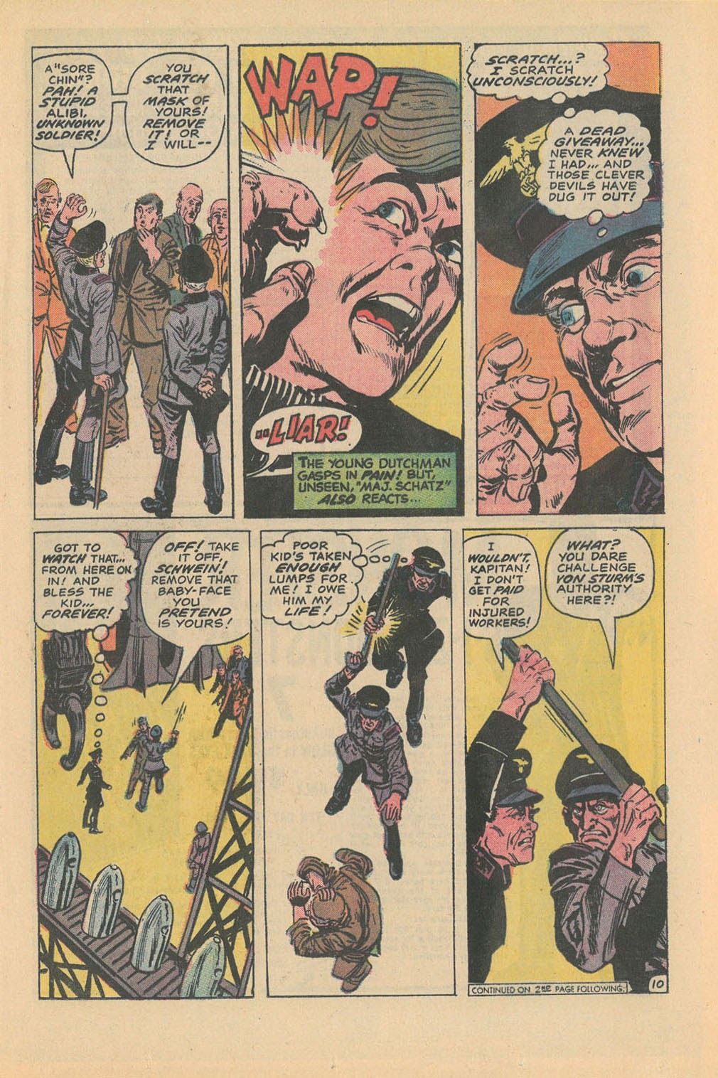 Read online Star Spangled War Stories (1952) comic -  Issue #177 - 13