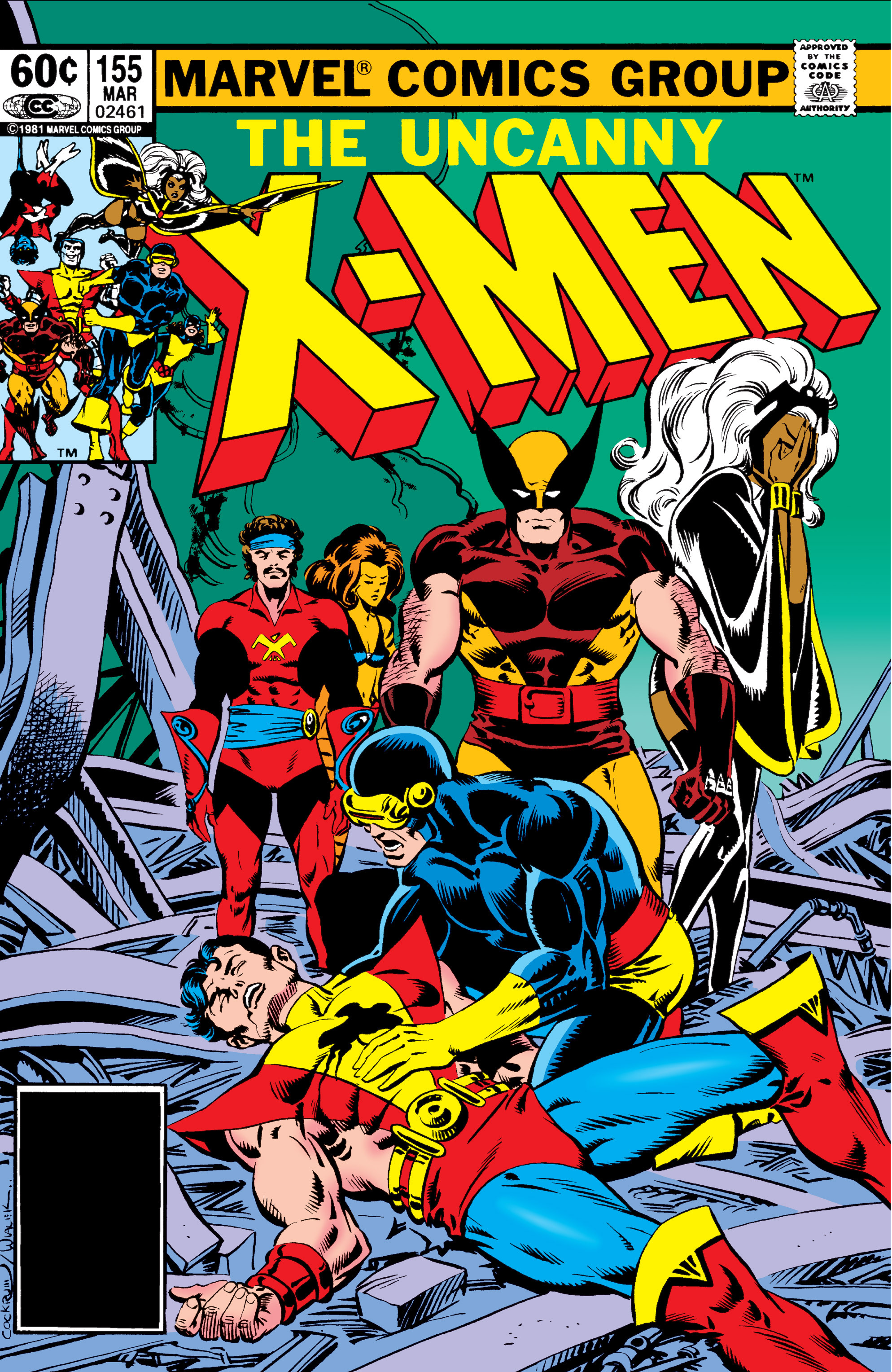 Uncanny X-Men (1963) 155 Page 1