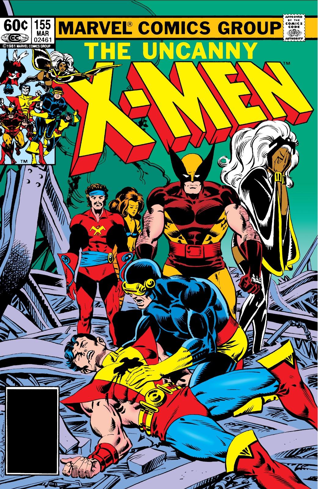 Uncanny X-Men (1963) issue 155 - Page 1
