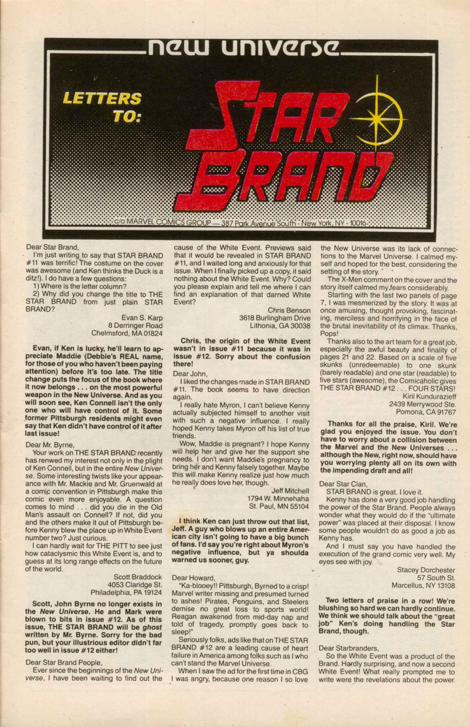 Read online Star Brand comic -  Issue #13 - 28