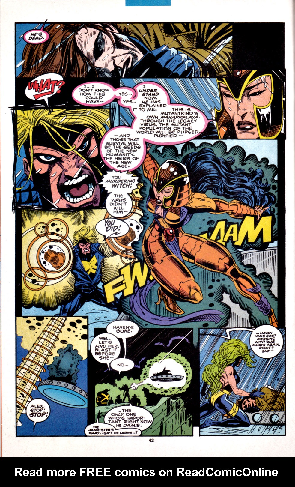 Read online X-Factor (1986) comic -  Issue #100 - 35
