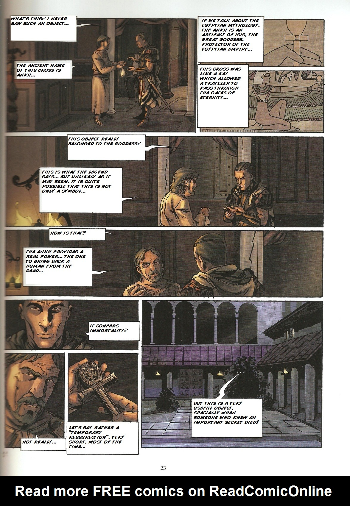 Read online Assassin's Creed (2009) comic -  Issue #2 - 23