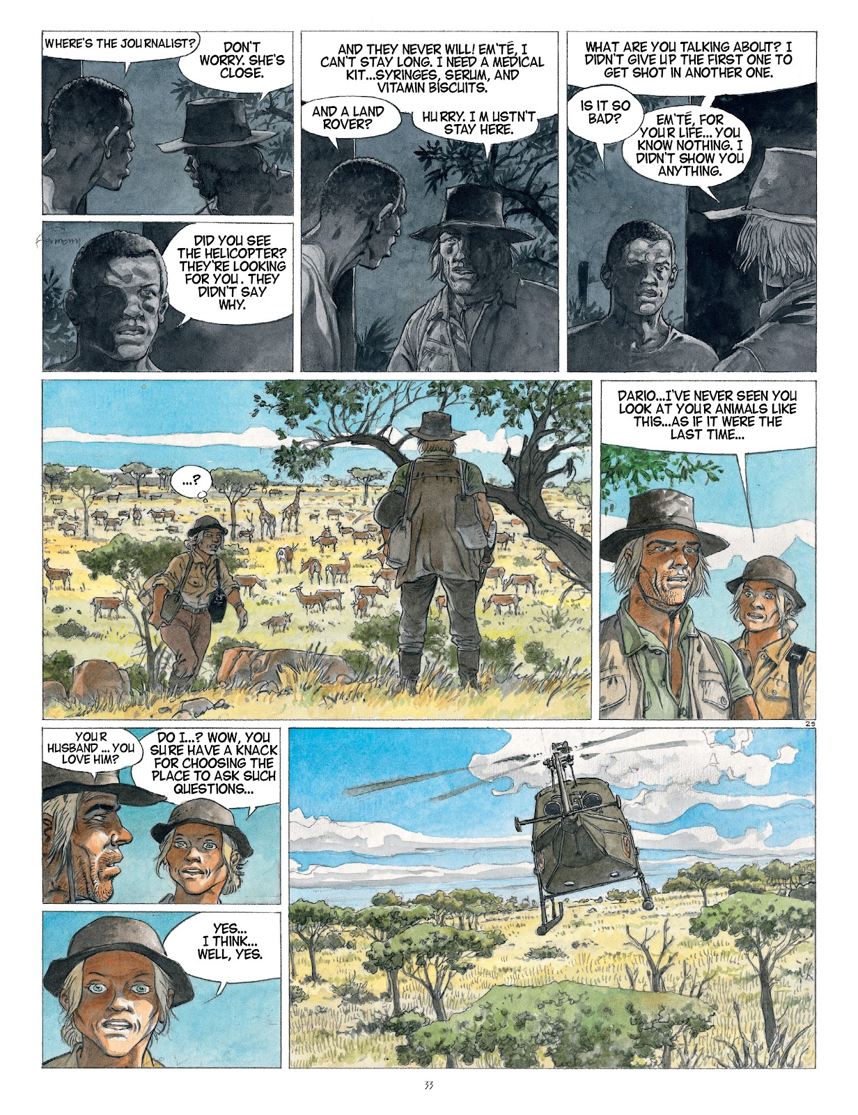 Read online Afrika comic -  Issue # TPB - 33