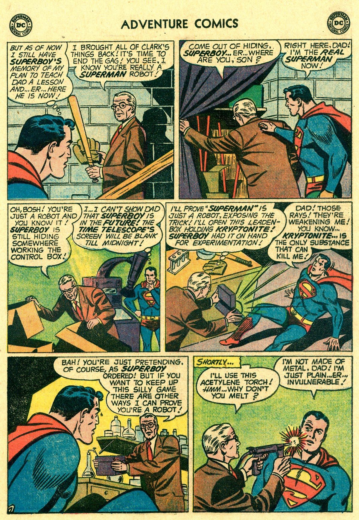 Read online Adventure Comics (1938) comic -  Issue #265 - 9